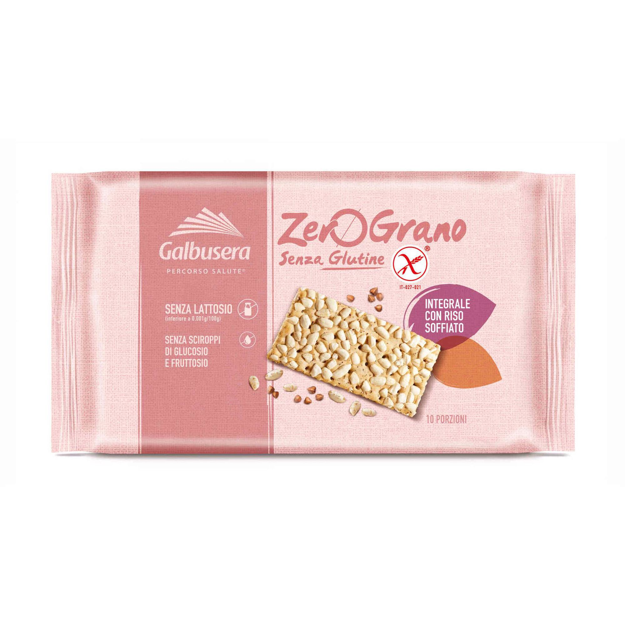 Crackers Riso Integral sem Glúten