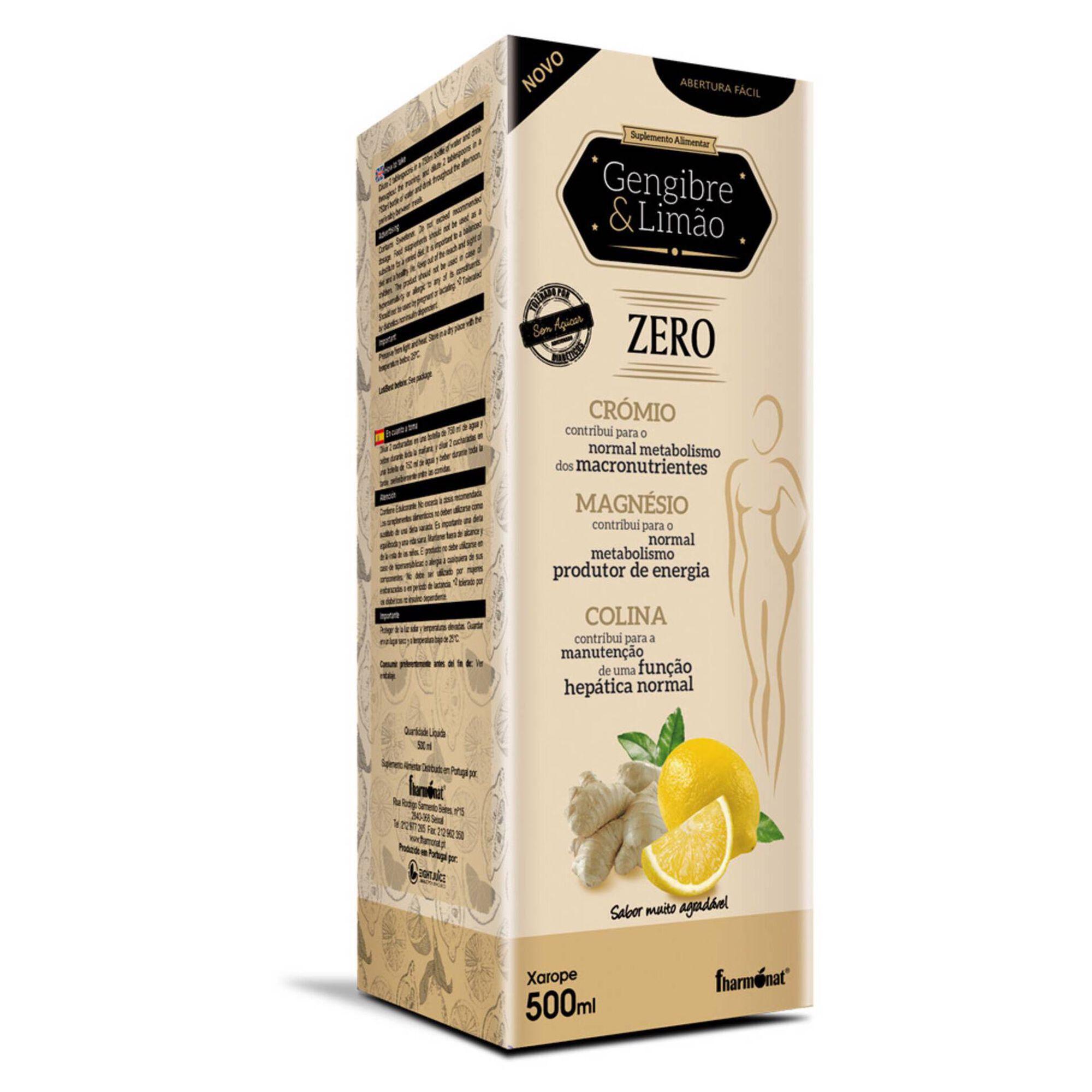 Suplemento Alimentar Gengibre + Limão