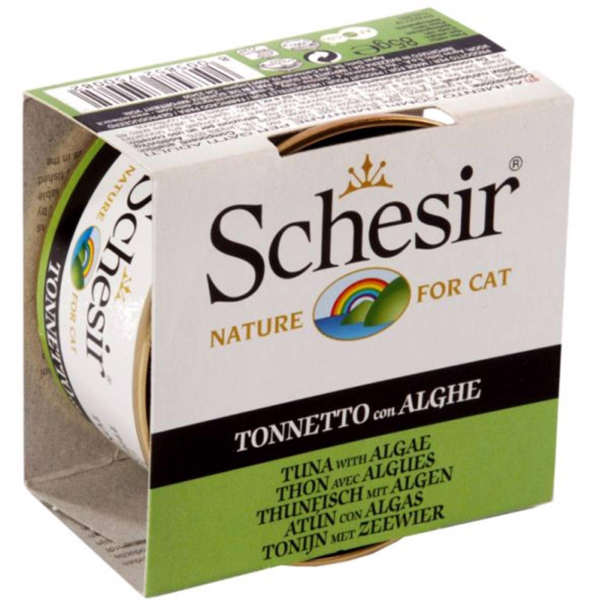 Comida Húmida para Gato Atum e Algas Lata