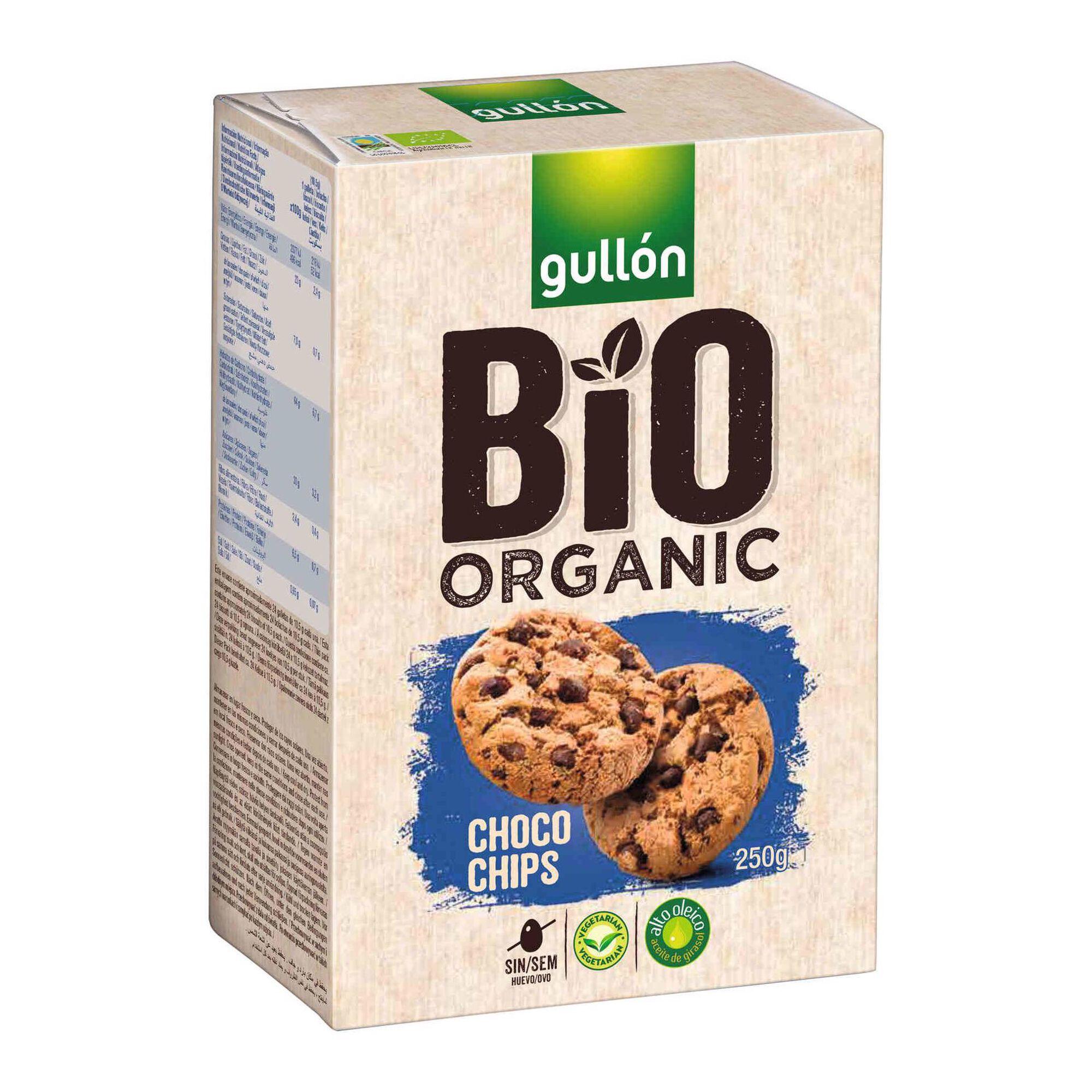 Bolachas Chocolate Chips Biológicas