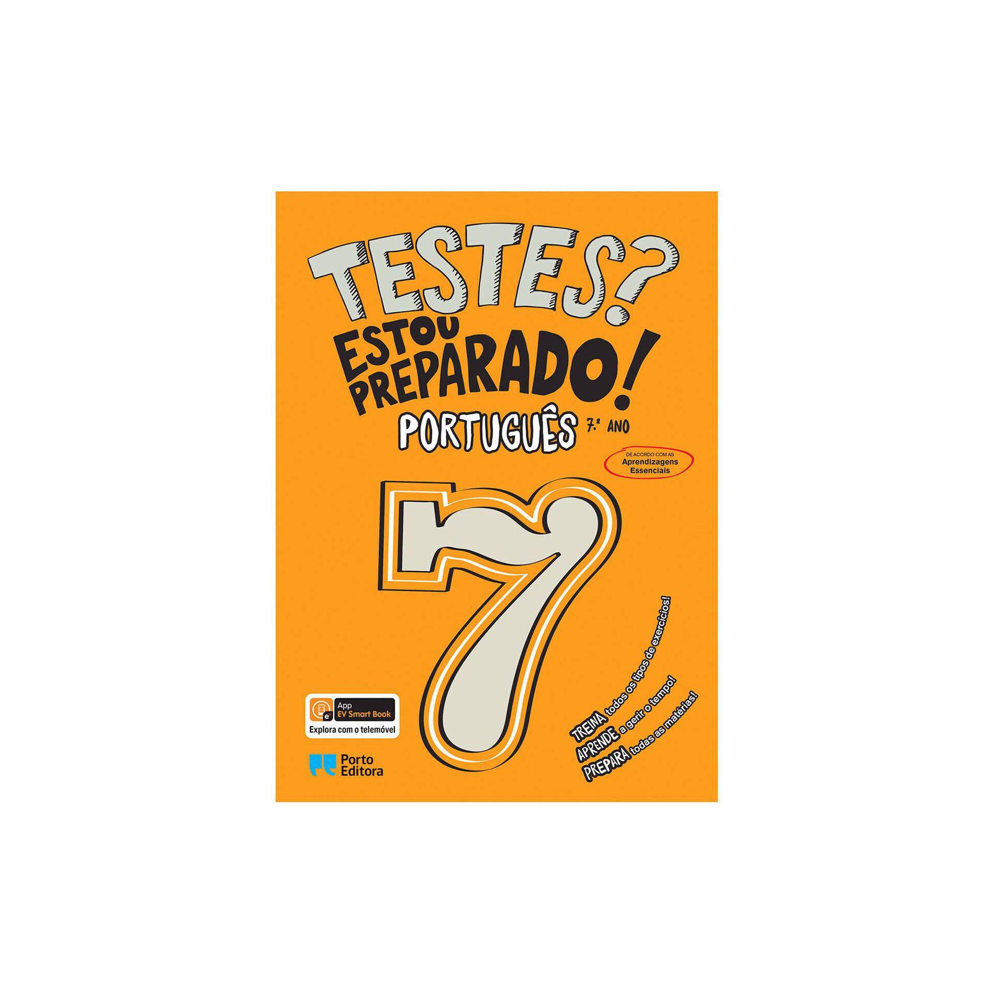 Testes? Estou Preparado! - Português - 7º ano