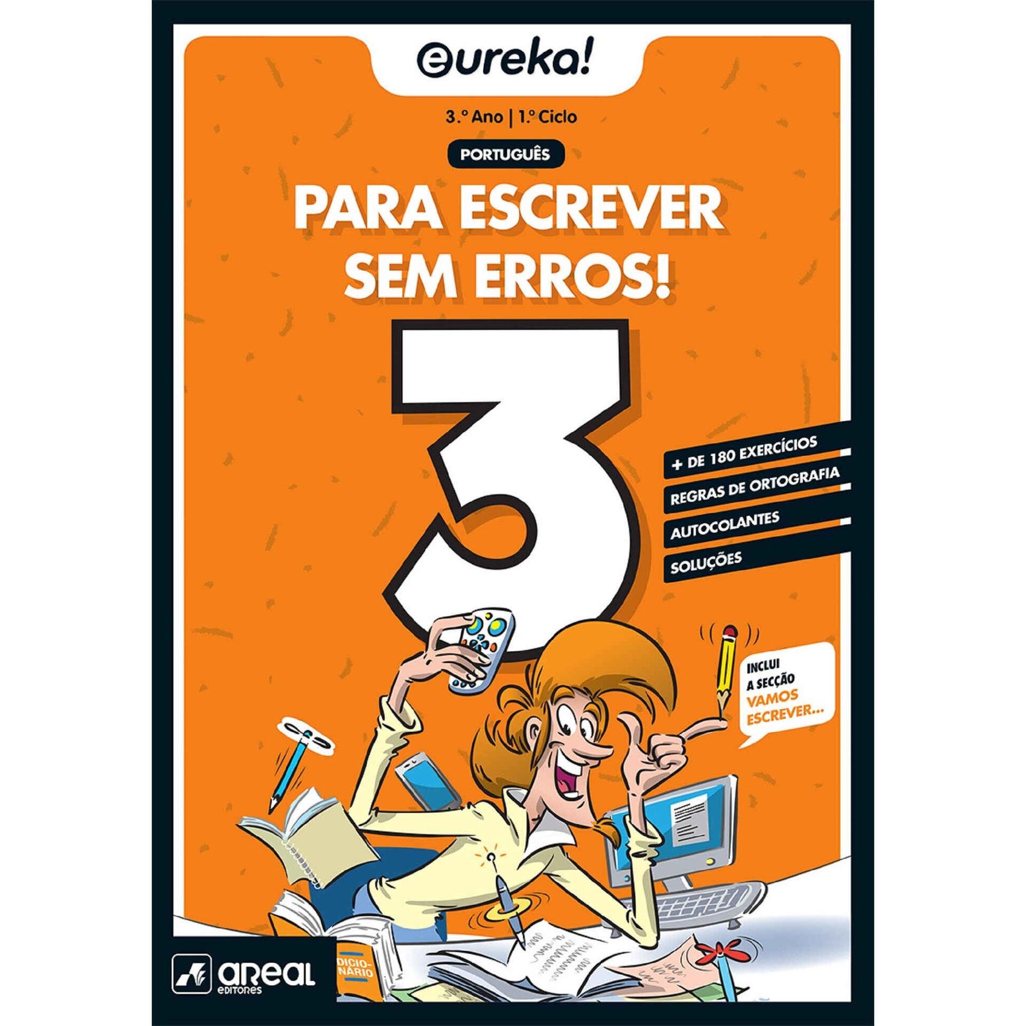 Eureka! - Para Escrever Sem Erros  - 3º Ano