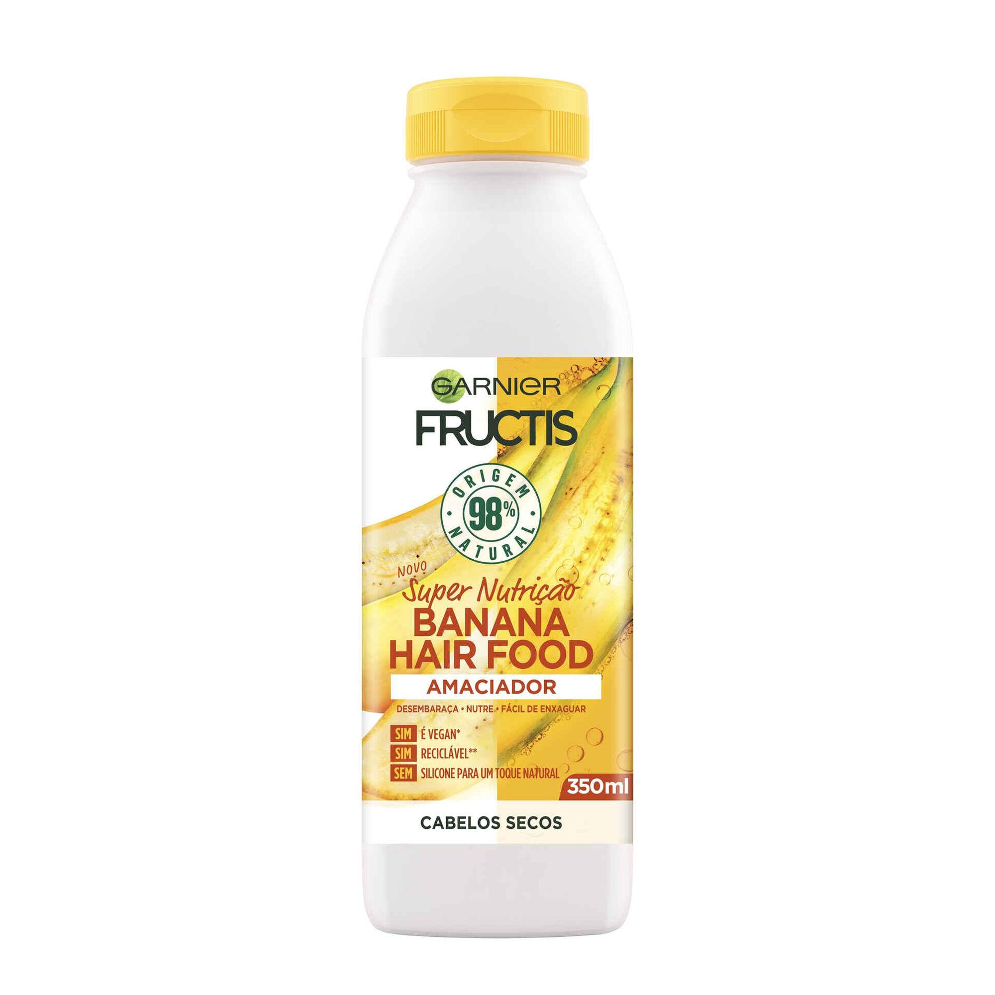 Condicionador Fructis Hair Food Banana
