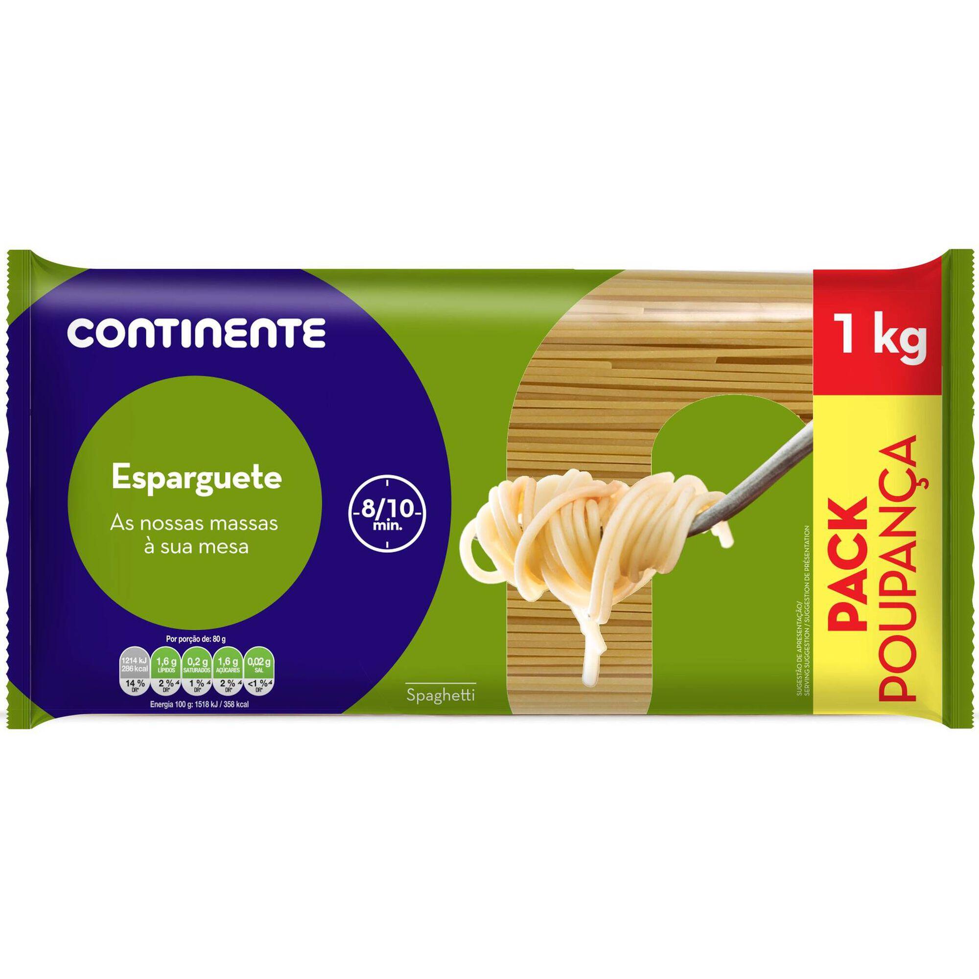Massa Esparguete Pack Poupança