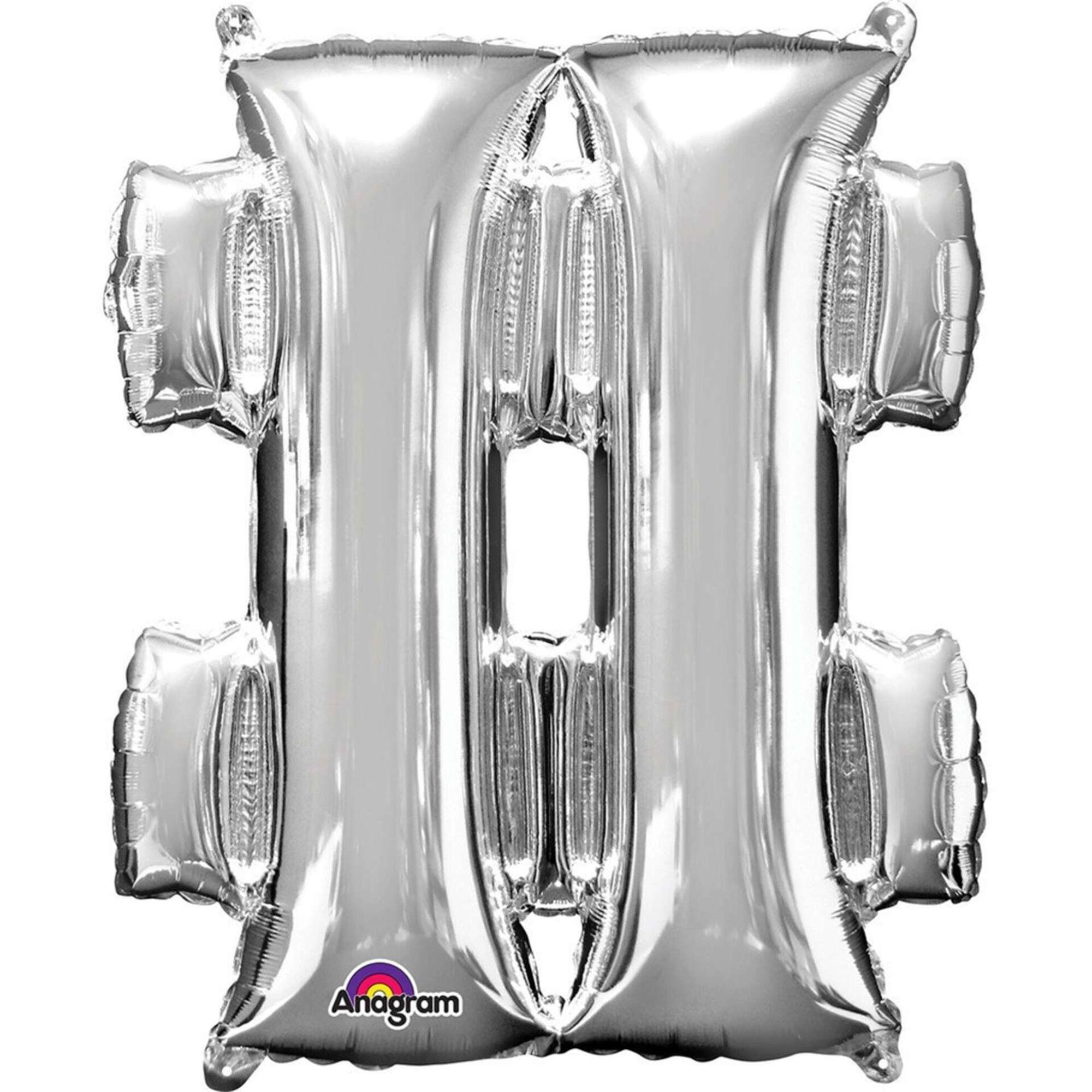 Balão Foil Cardinal Prateado