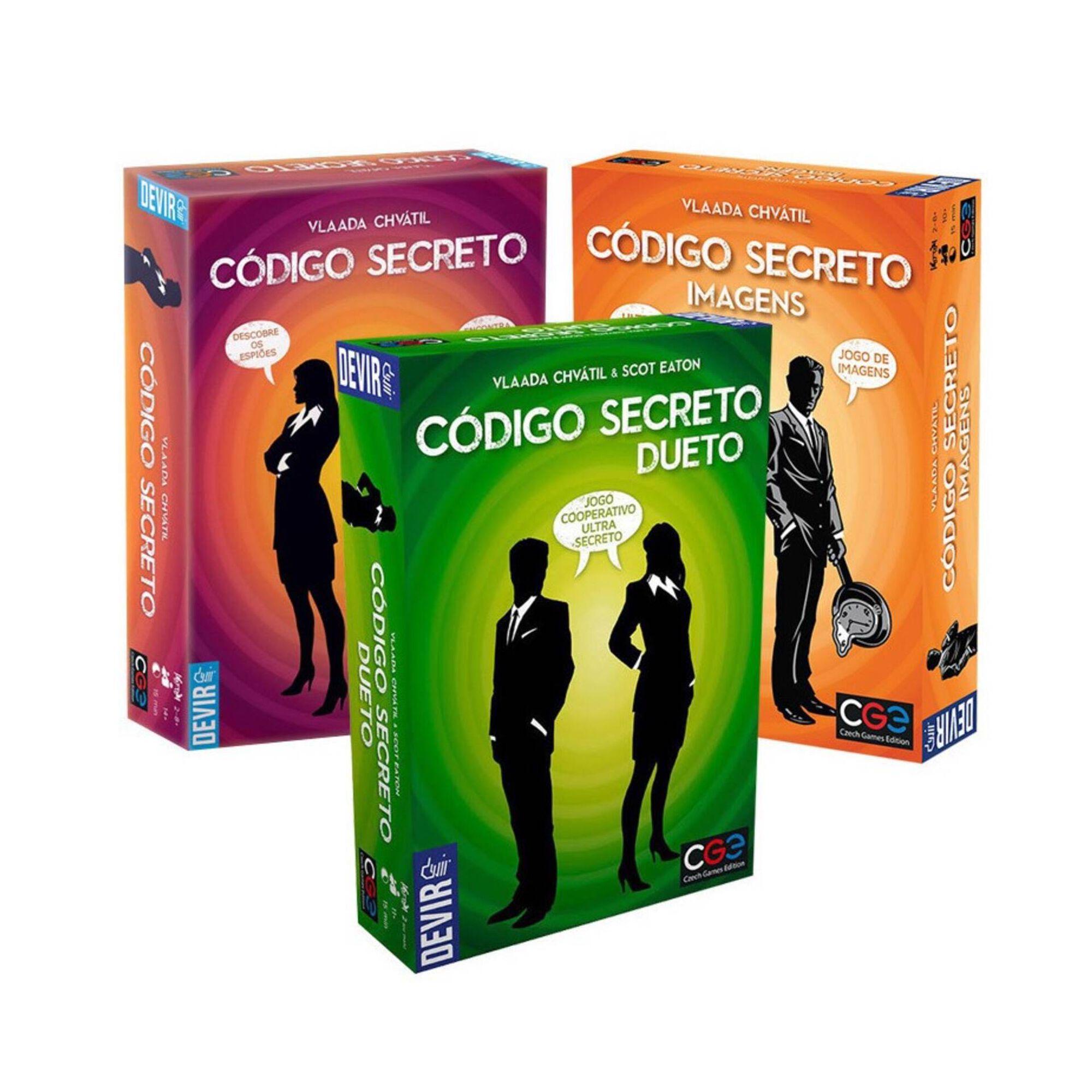 Código Secreto (vários modelos)