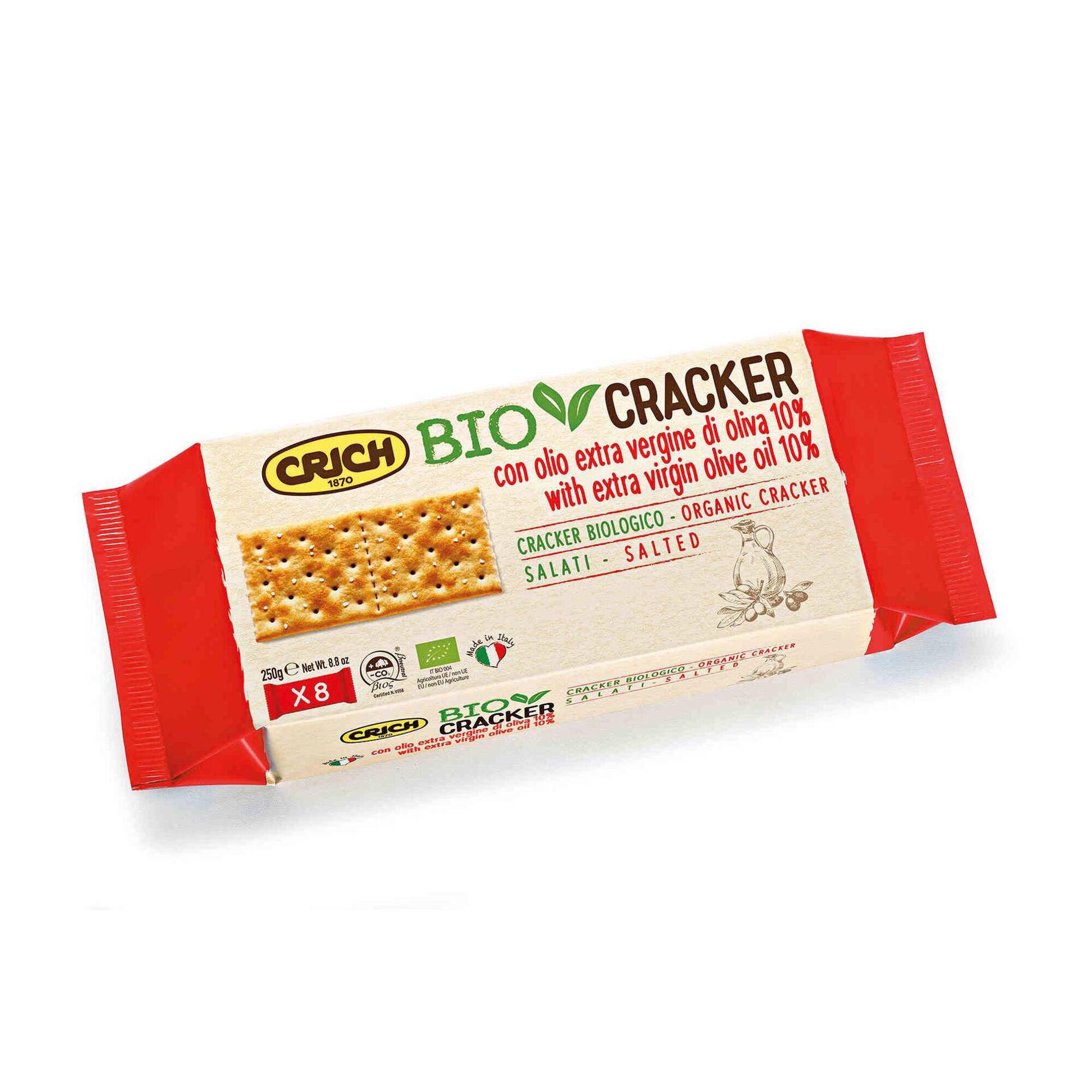 Crackers Sal e Azeite Biológicas