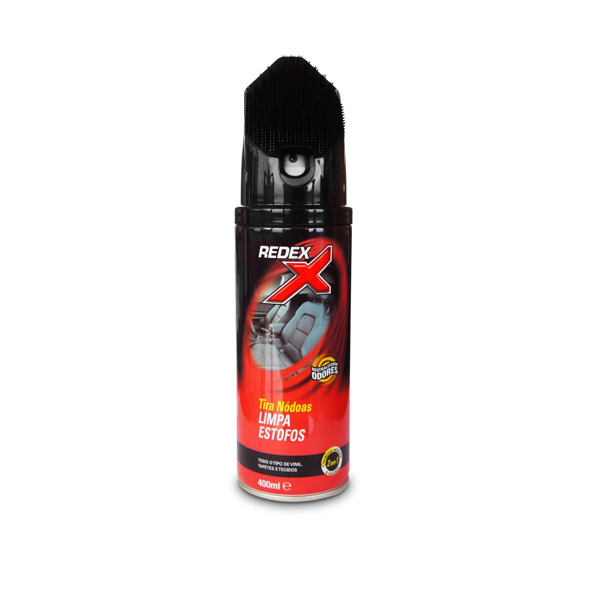 Spray Limpa Estofos Tira Nódoas com Escova 400ml