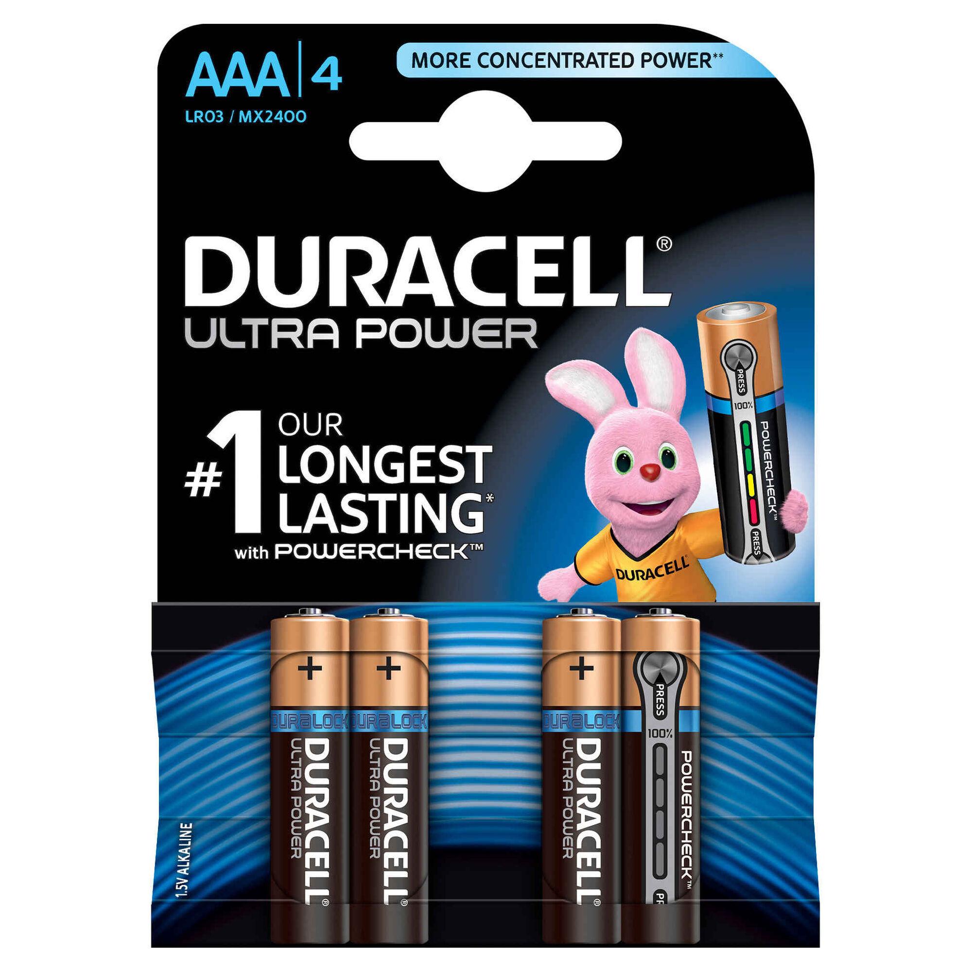 Pilhas AAA Ultra