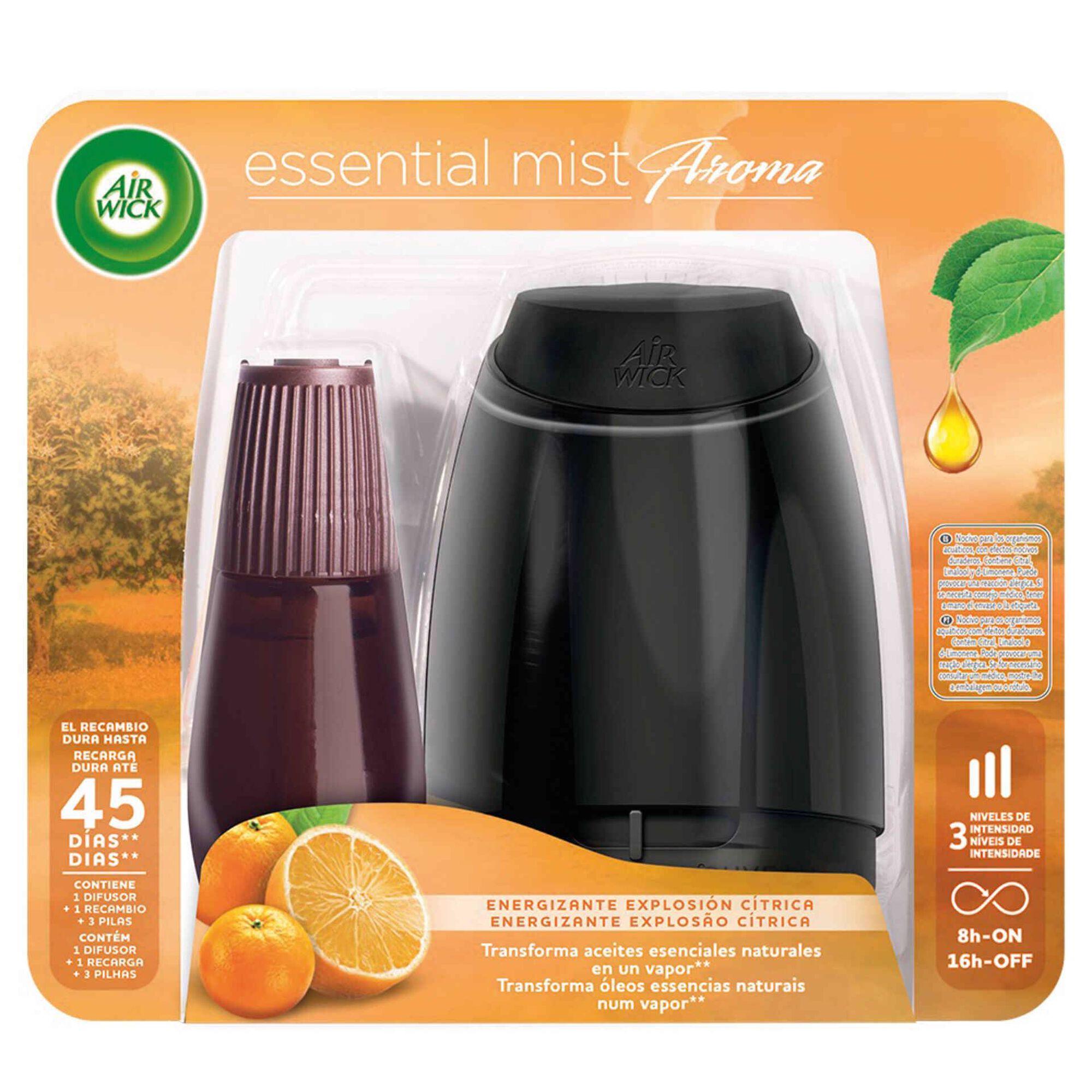 Ambientador Difusor Essential Mist Citrus