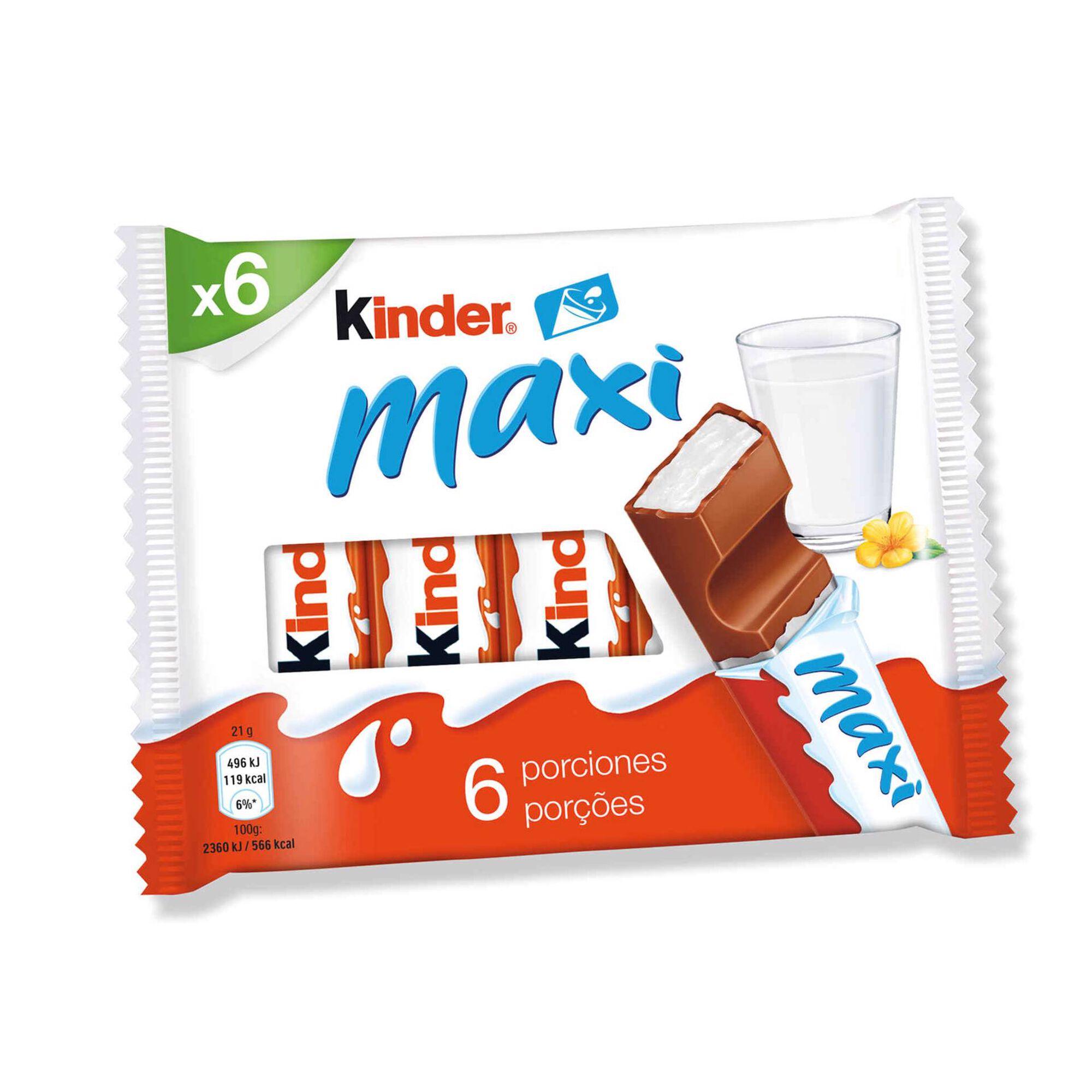 Snack de Chocolate de Leite Maxi