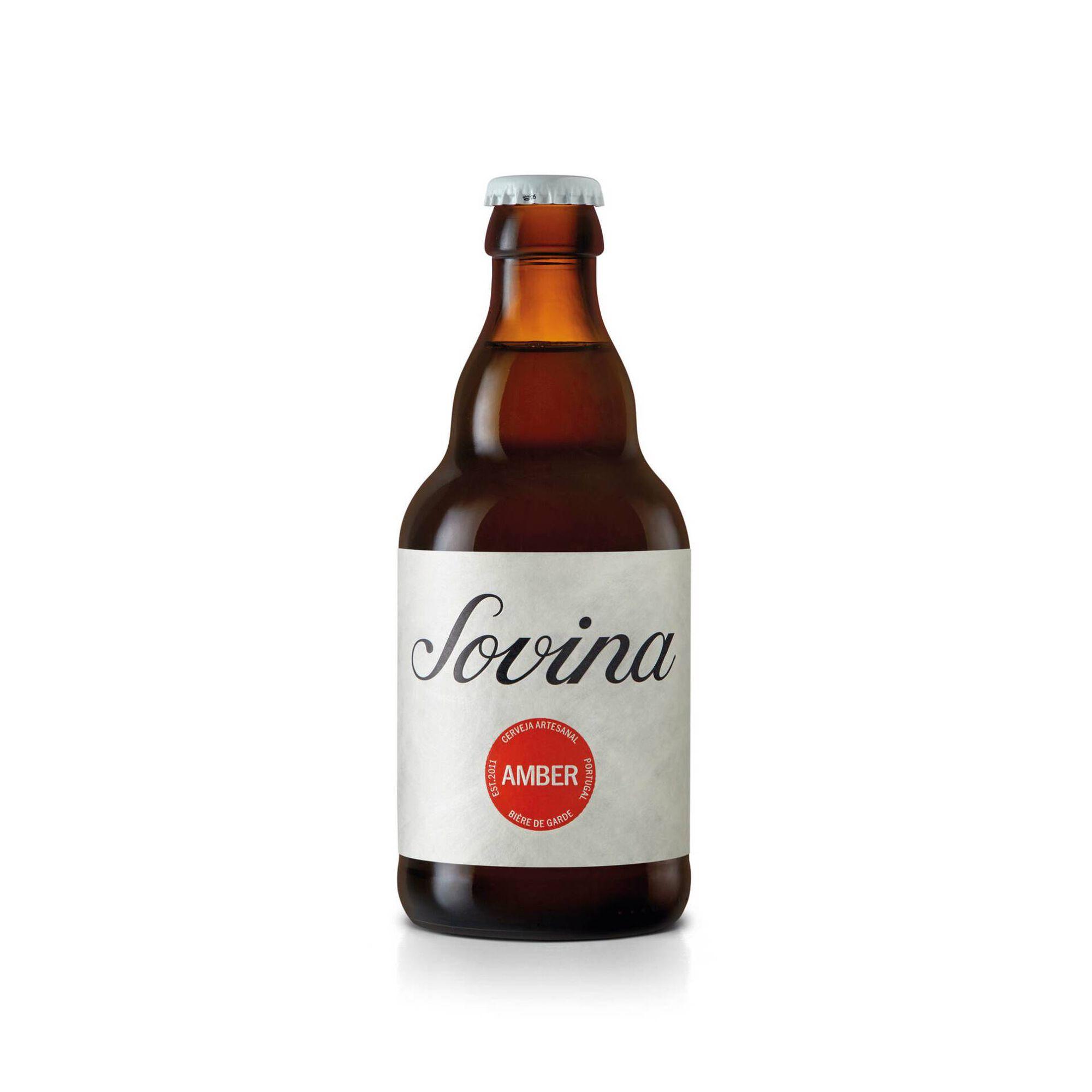 Cerveja com Álcool Amber Garrafa