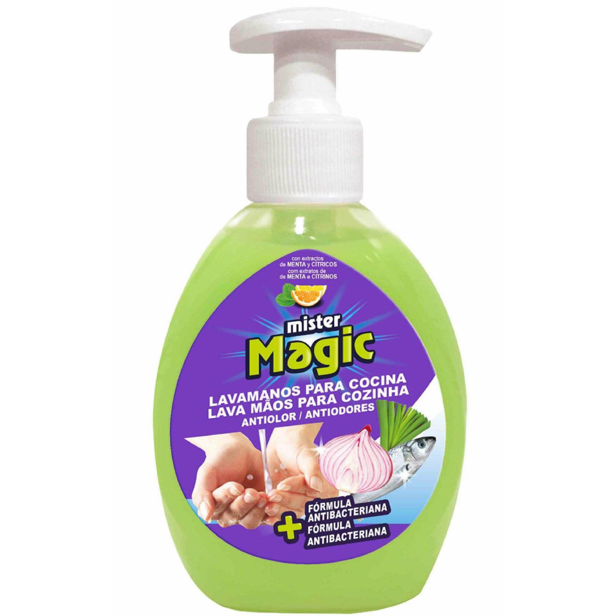 Detergente Sabonete Líquido Lava Mãos Anti-odor