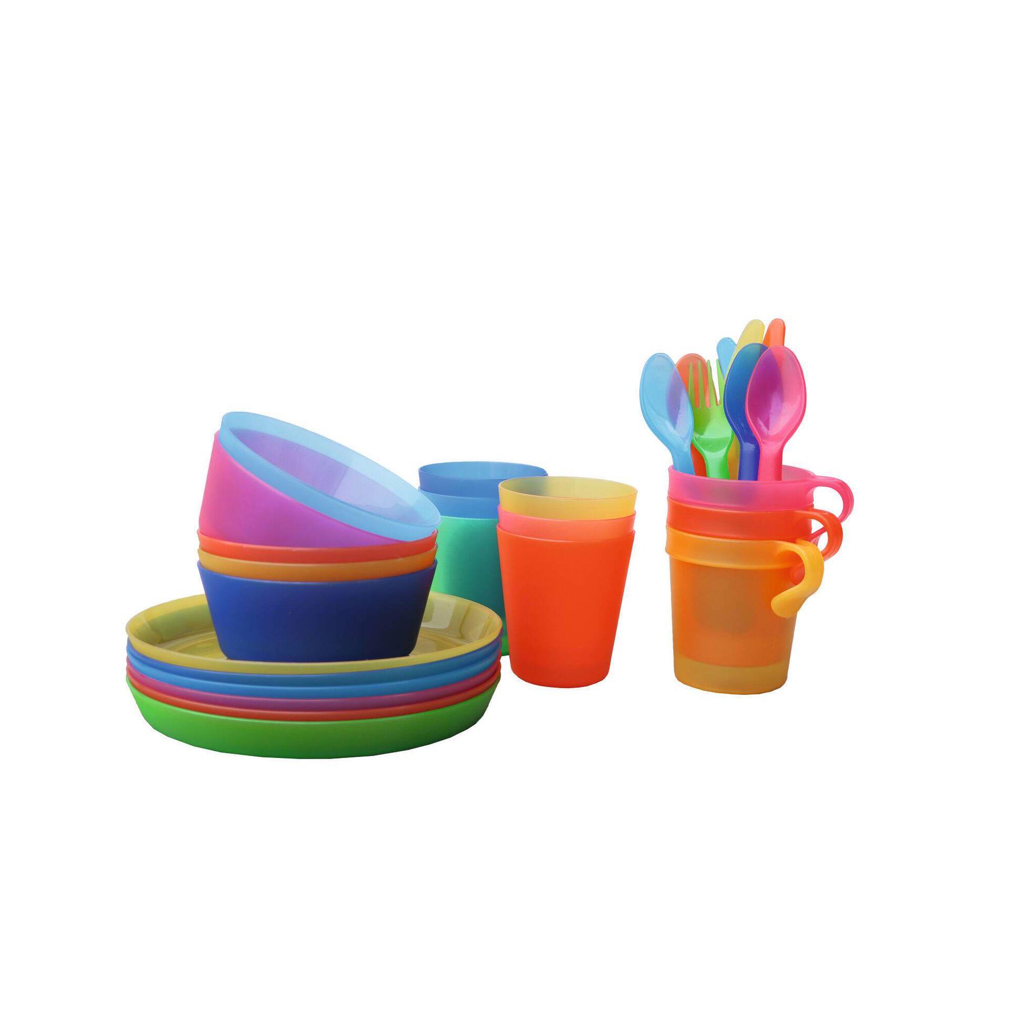 Copos Água Plástico Coloridos