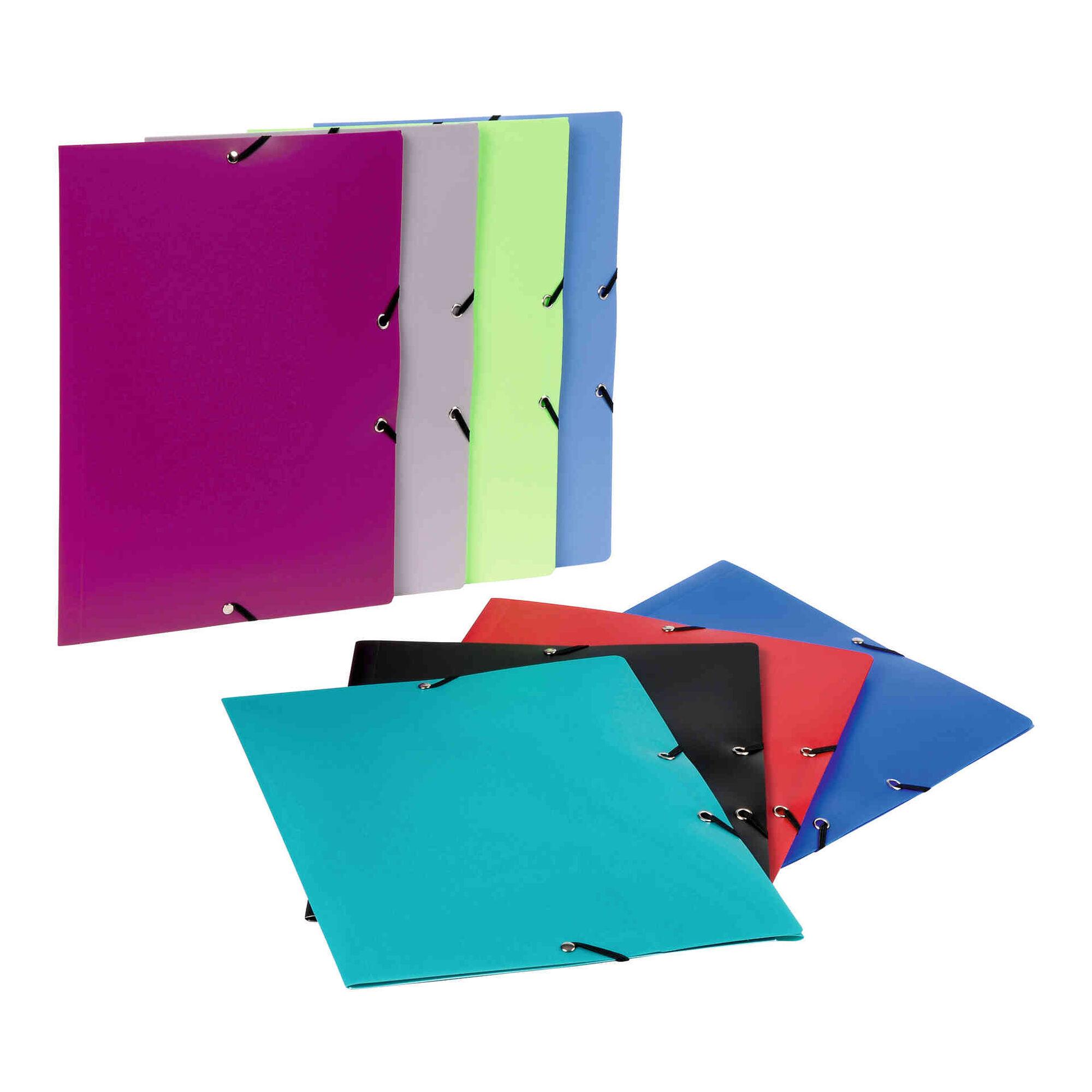 Capa com Elásticos A4 (várias cores)
