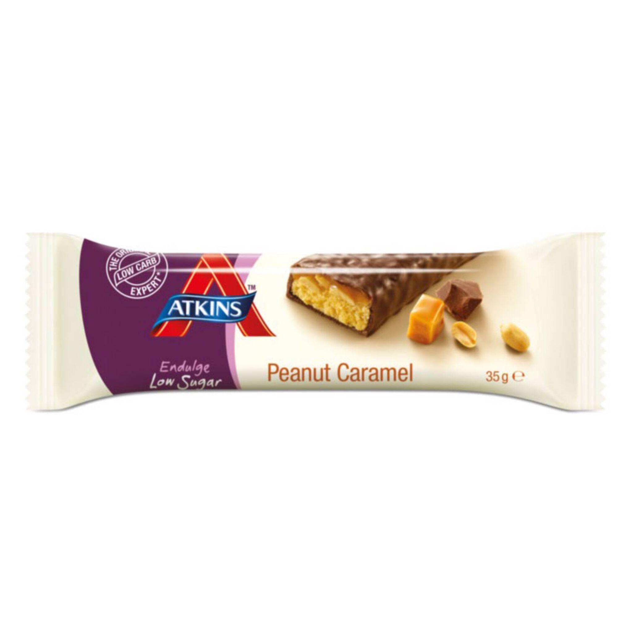 Barra de Cereais Endulge Caramelo e Amendoim