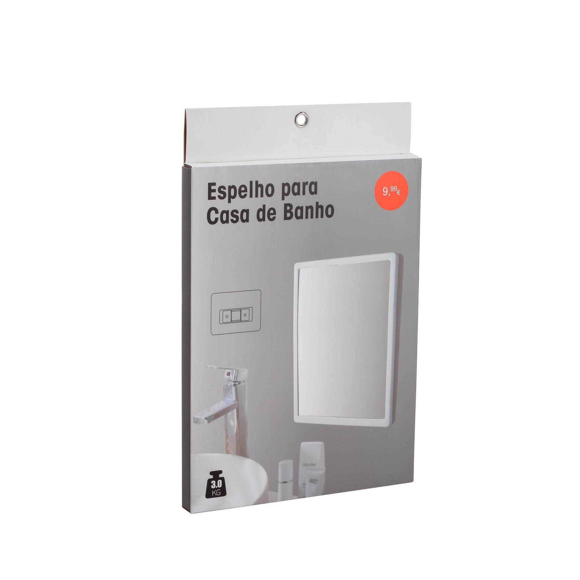Espelho 25x33cm Branco