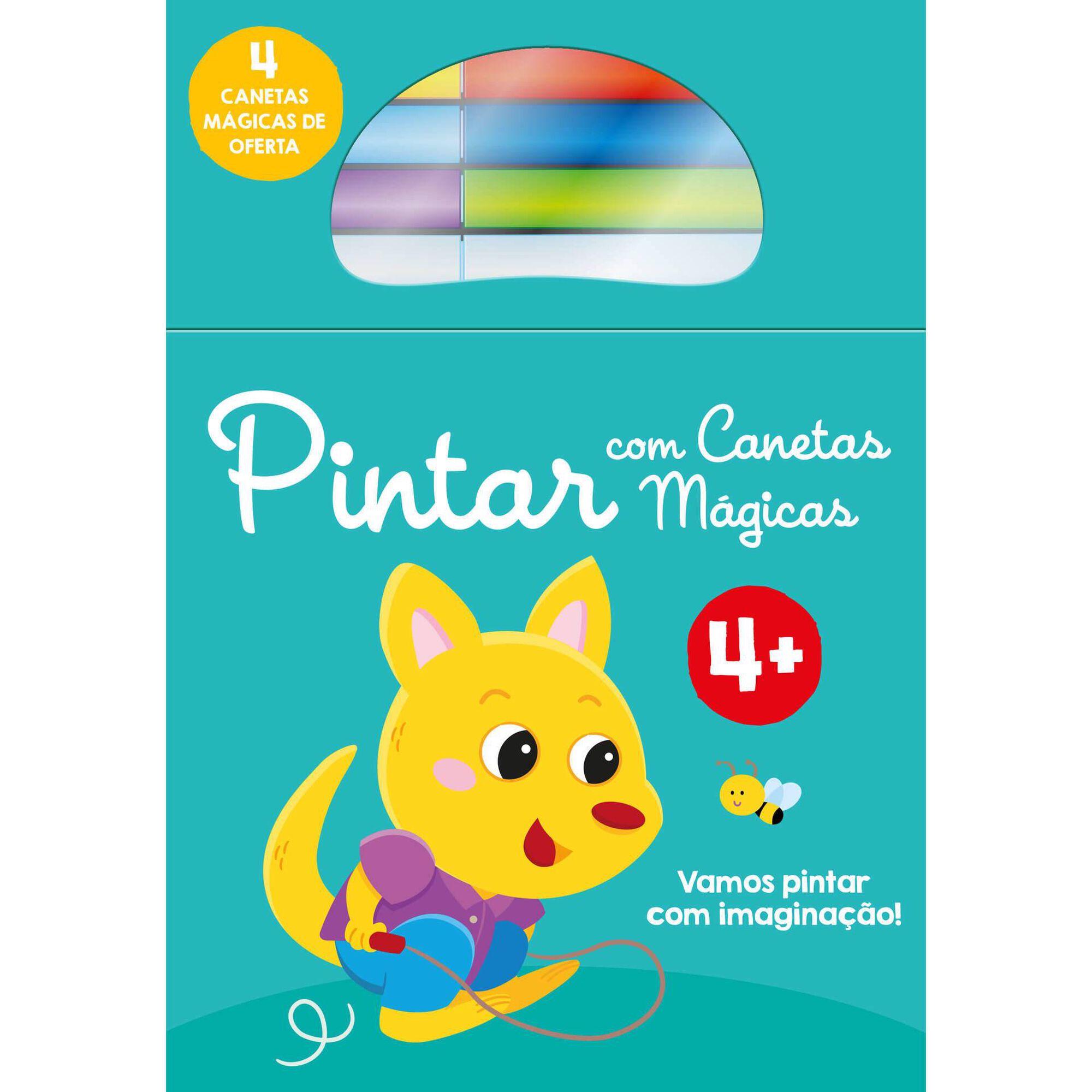 Pintar Com Canetas Mágicas - Canguru