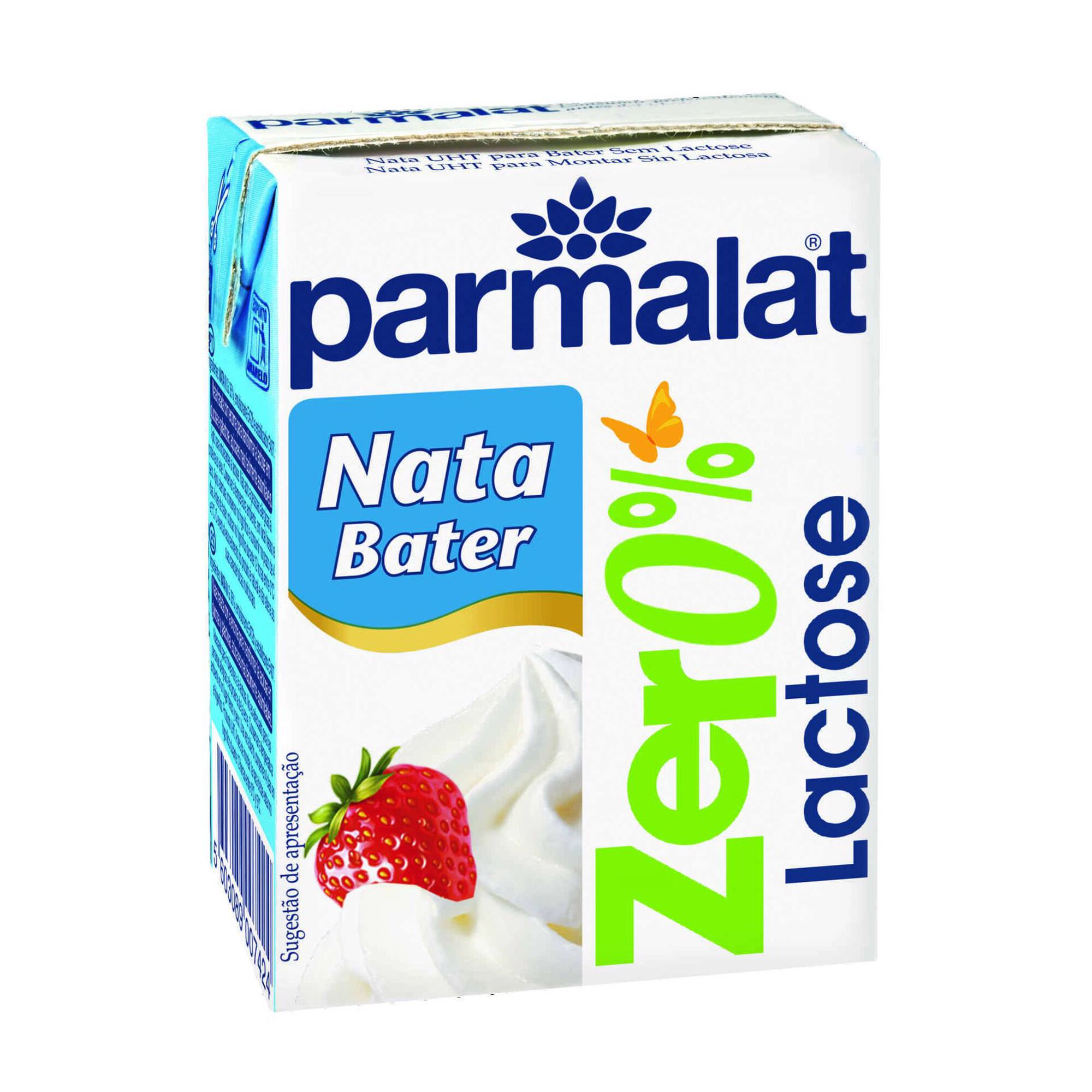 Nata UHT para Bater sem Lactose