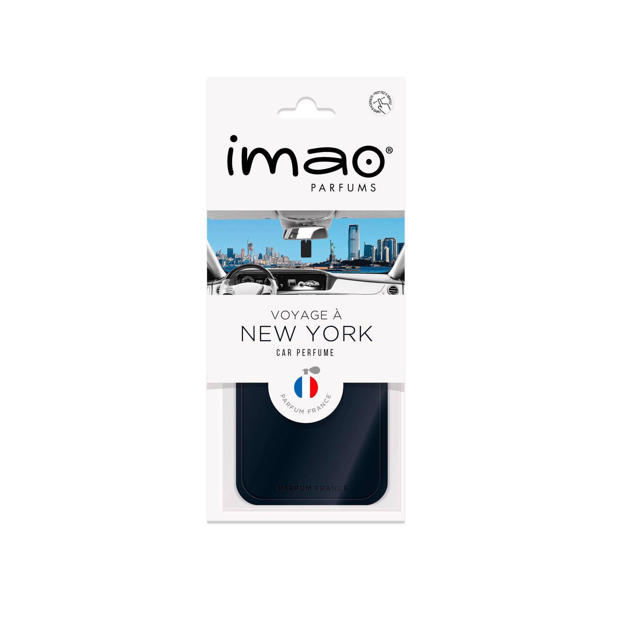 Ambientador Auto Pendurar Cartão New York