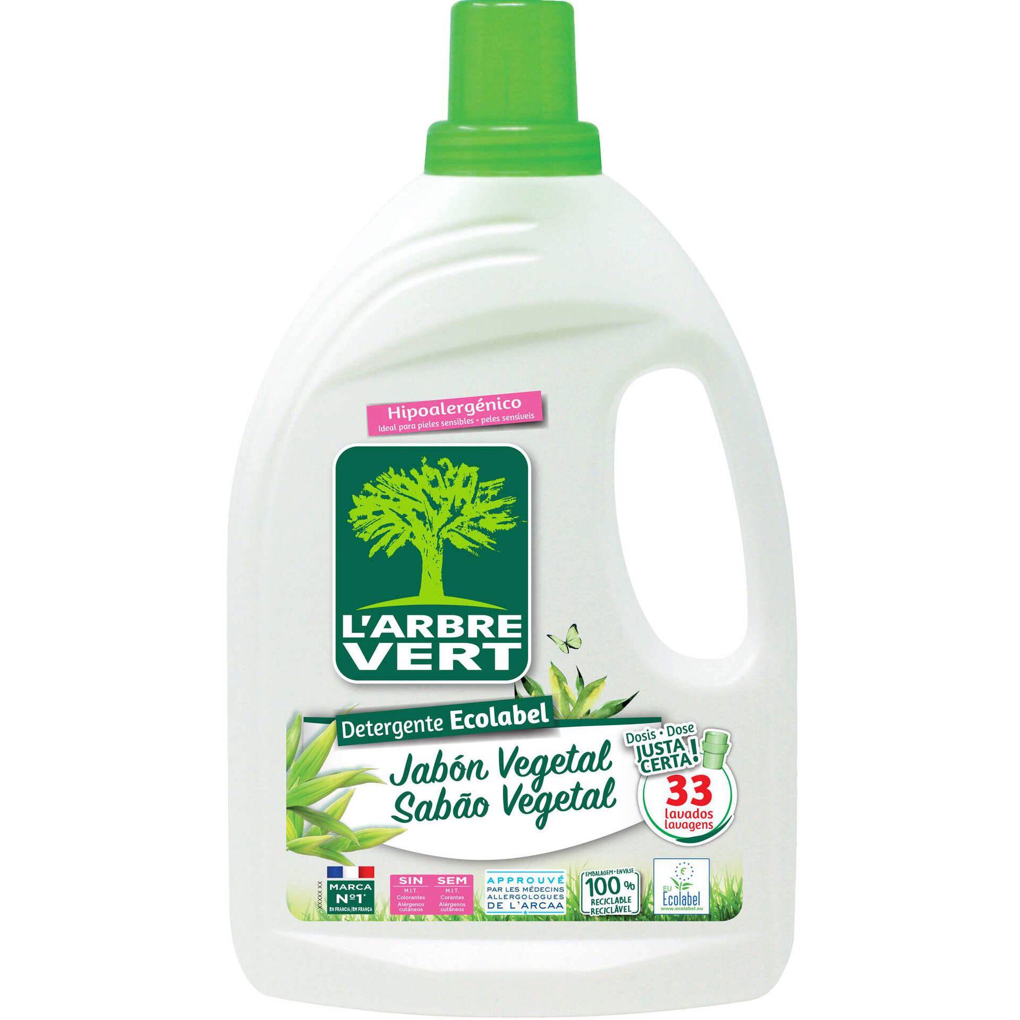 Detergente Máquina Roupa Líquido Sabão Vegetal