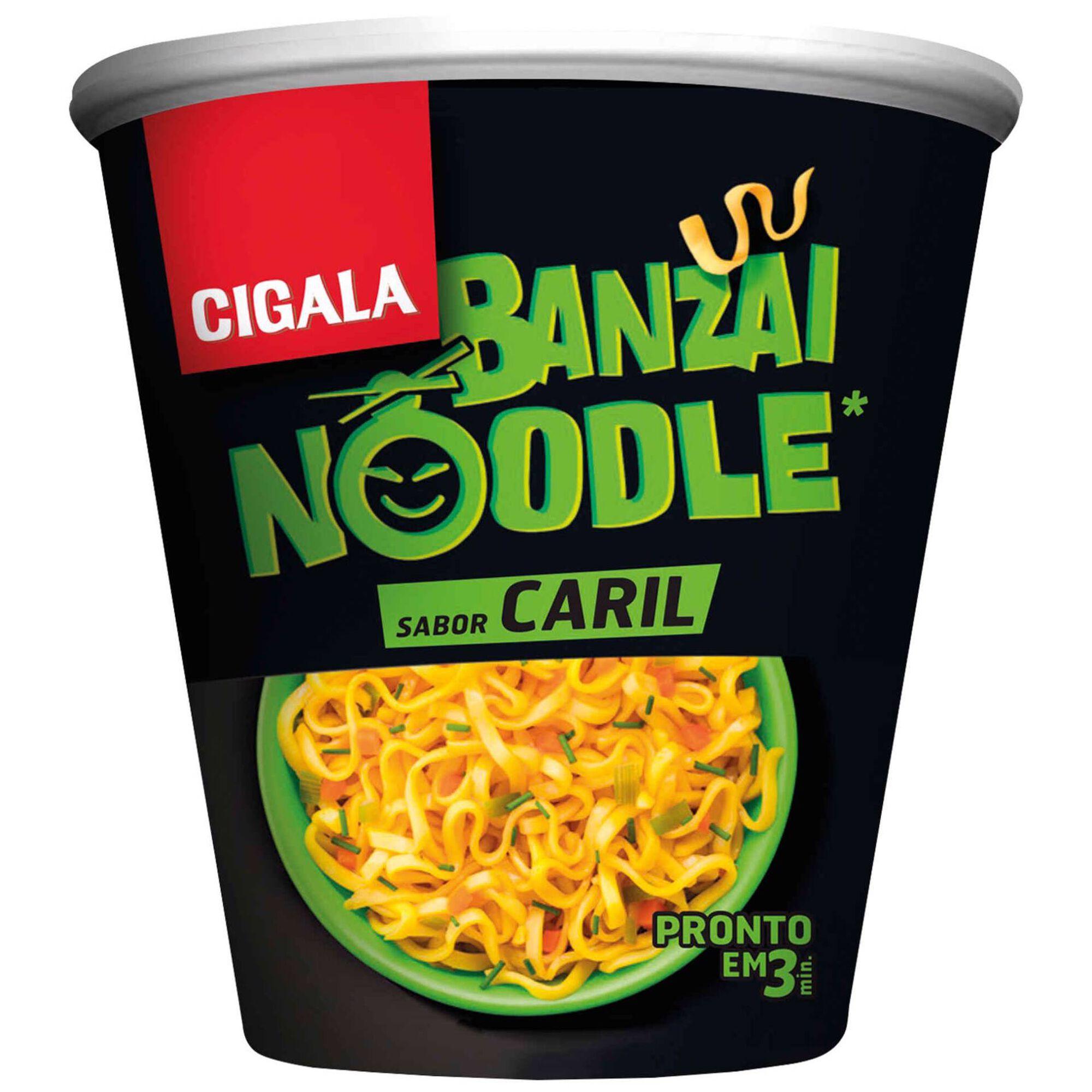 Noodles de Caril Banzai