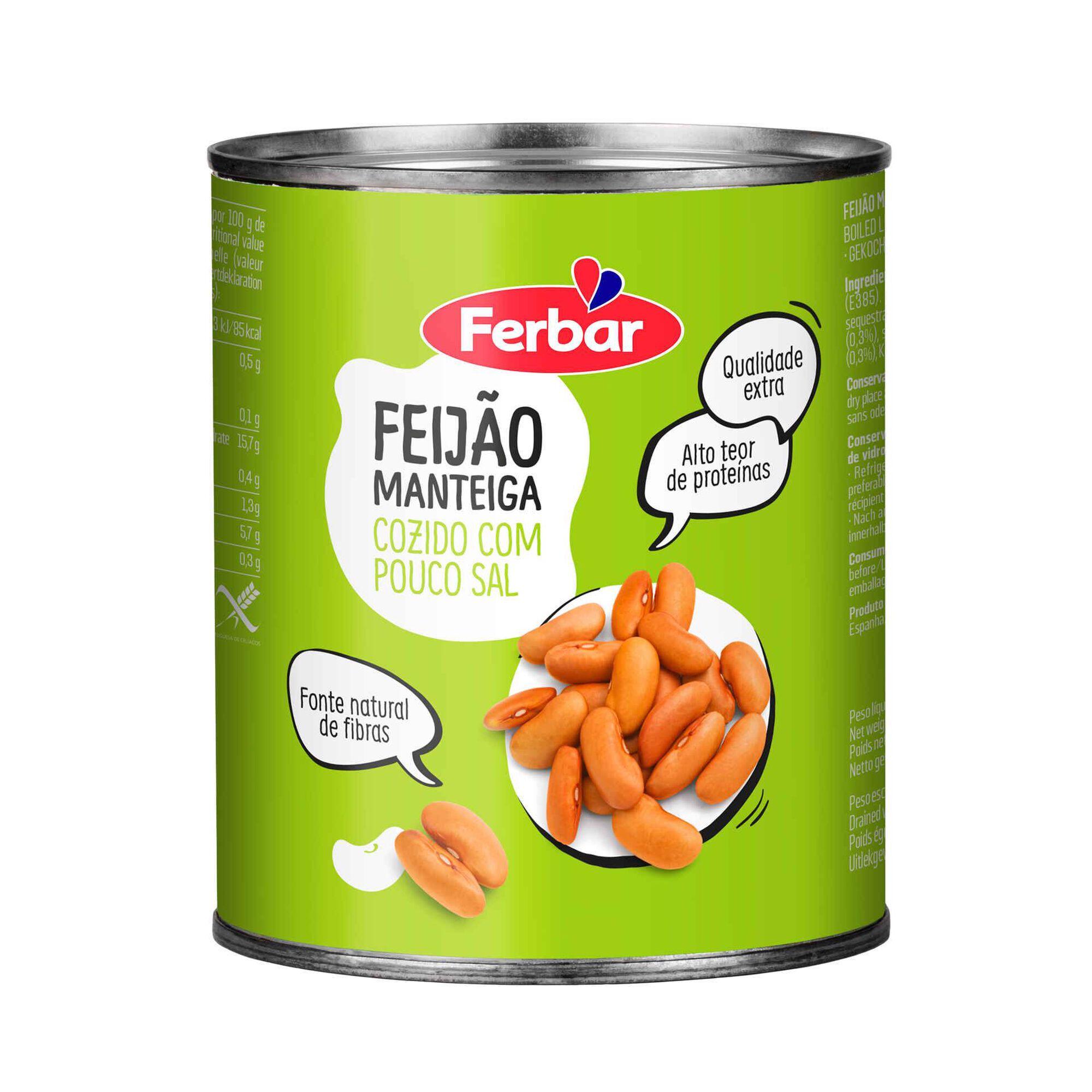 Feijão Manteiga Cozido