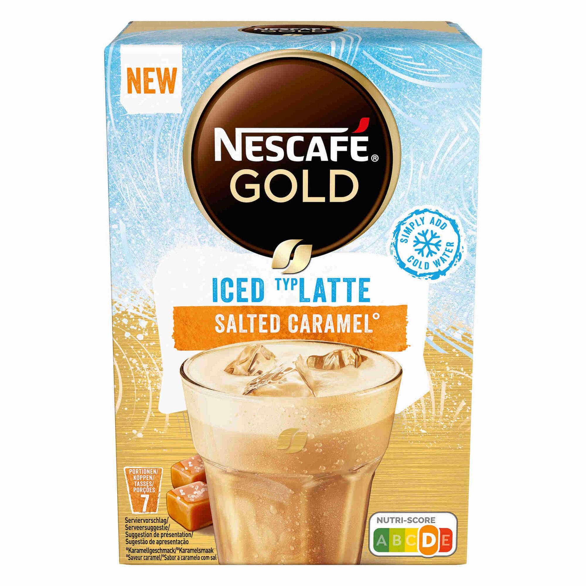 Café Solúvel Iced Latte Salted Caramel