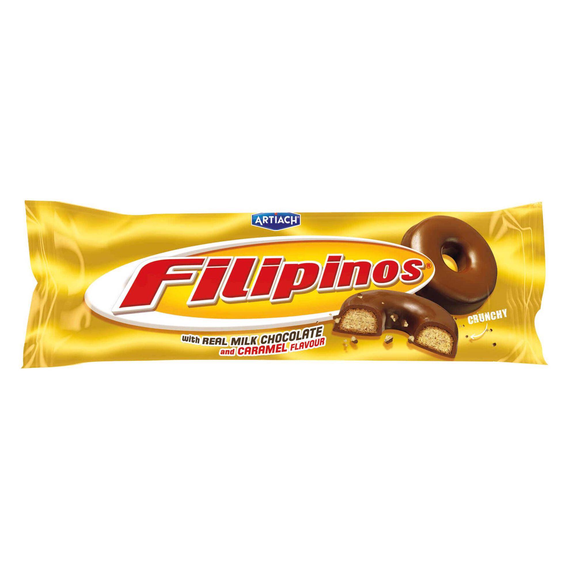 Bolachas Filipinos de Caramelo