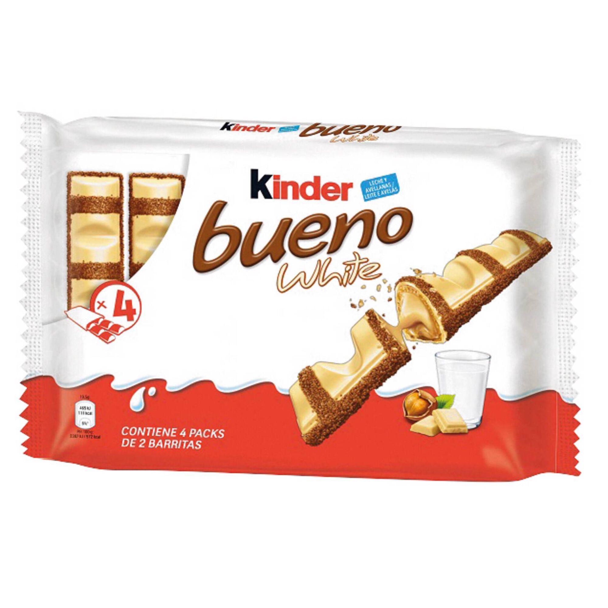 Snack de Chocolate Branco Kinder Bueno