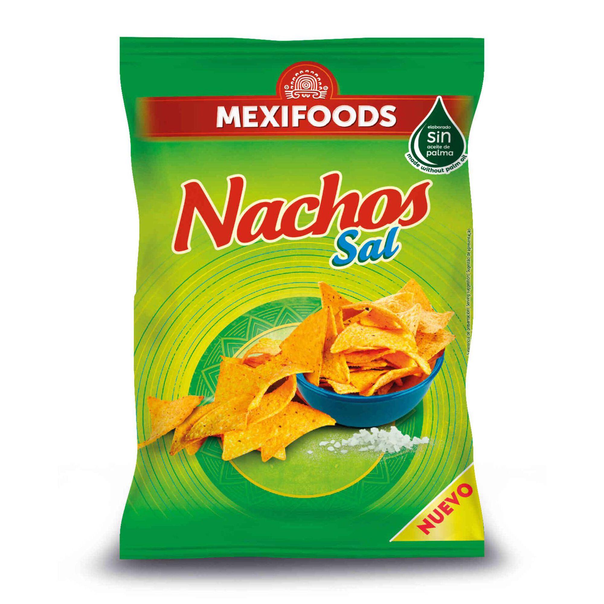 Snacks Tortilha Nachos com Sal