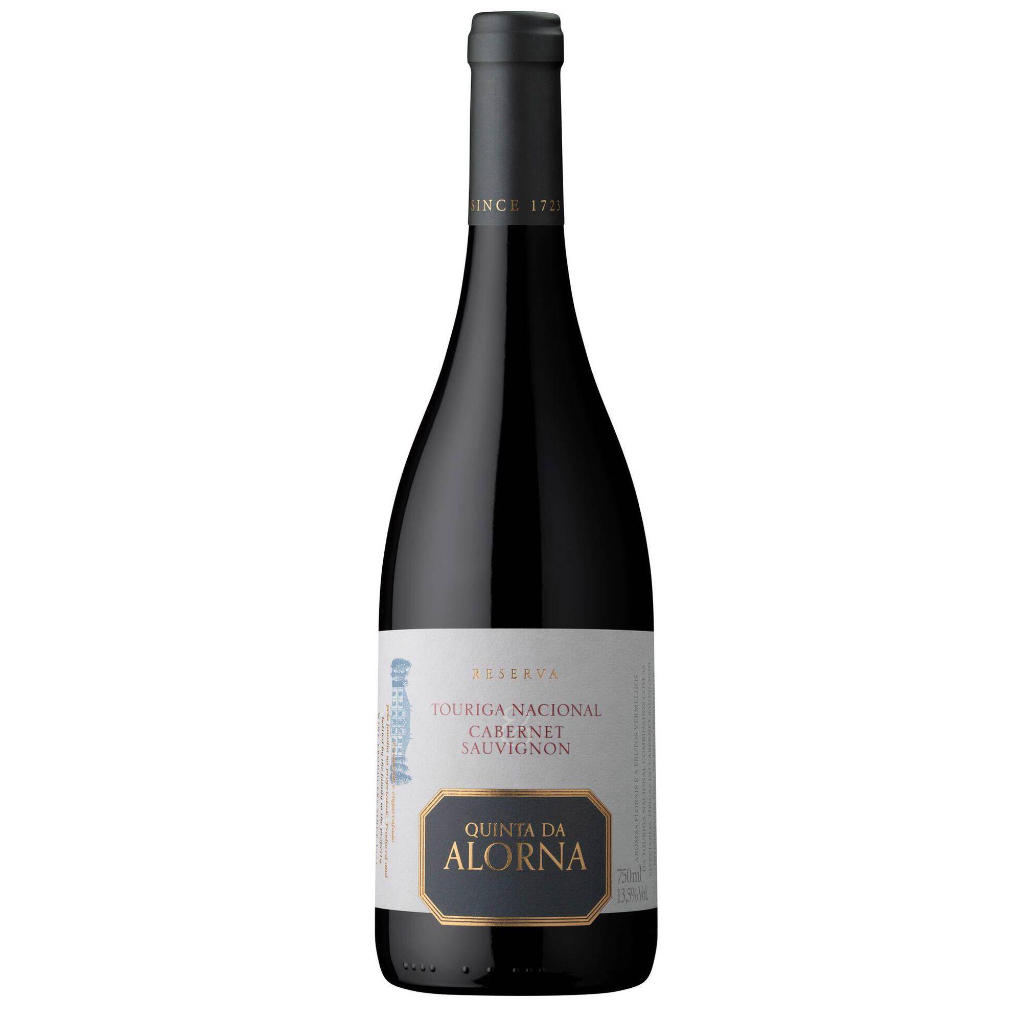 Quinta da Alorna Touriga Nacional e Cabernet Sauvignon Reserva DOC Tejo Vinho Tinto