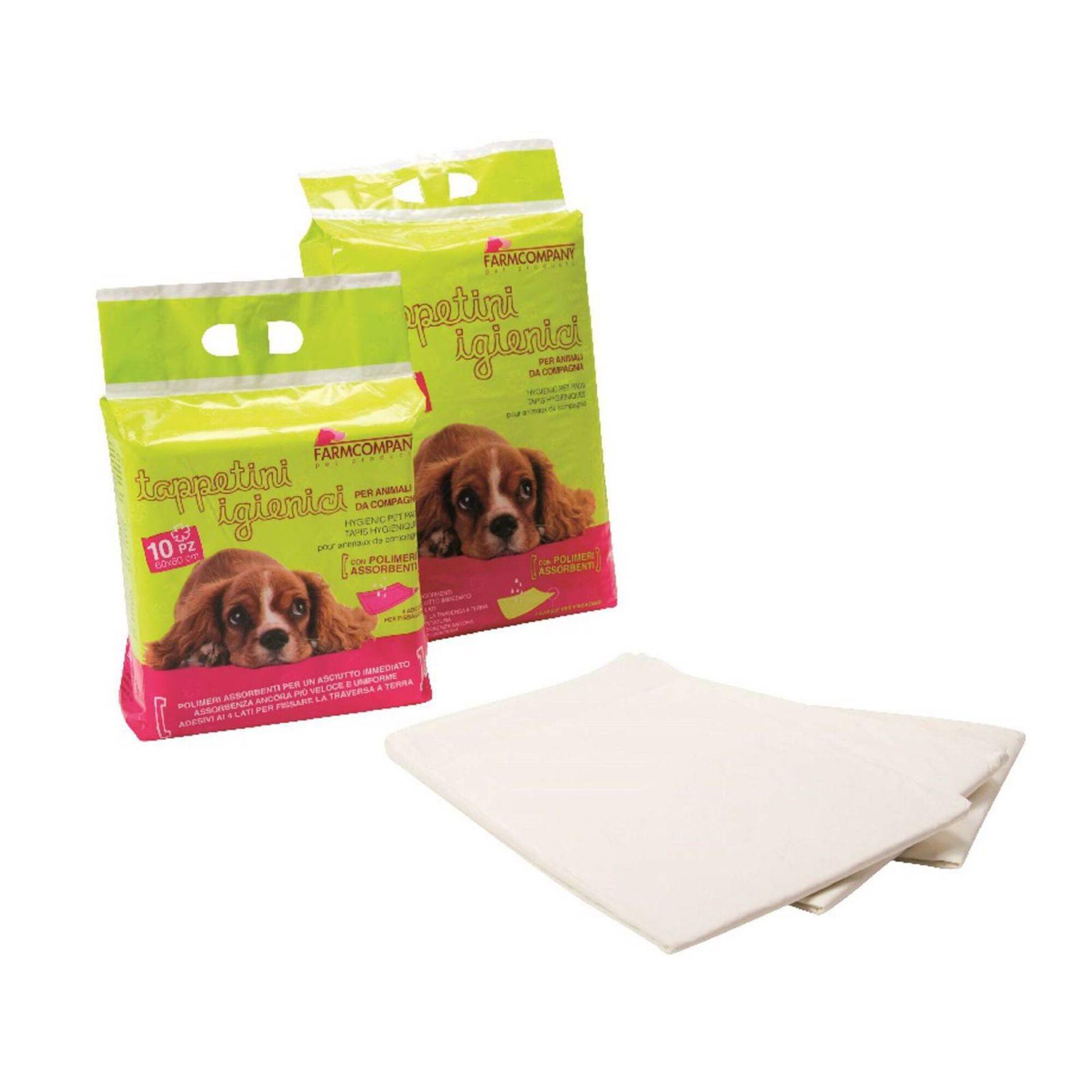 Tapetes Higiénicos para Cão Extra Absorvente 60 x 90 cm