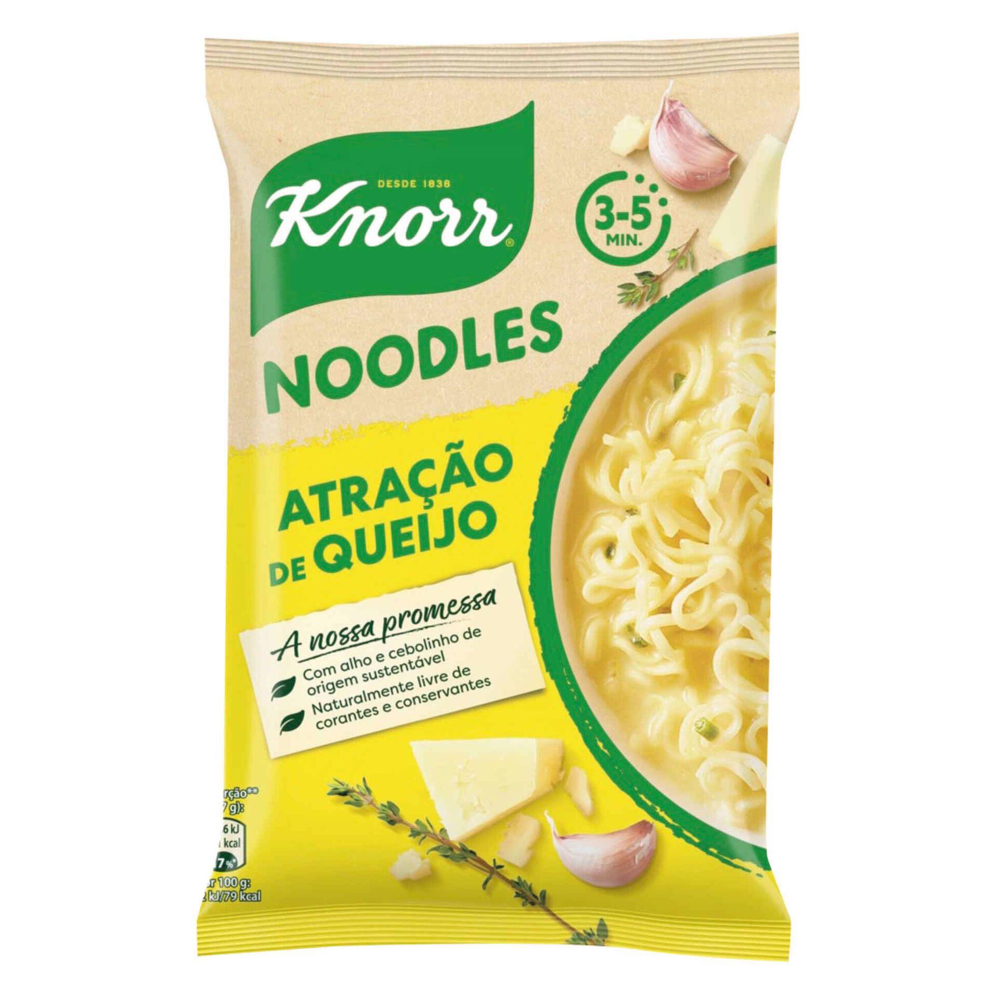 Noodles Atração de Queijo