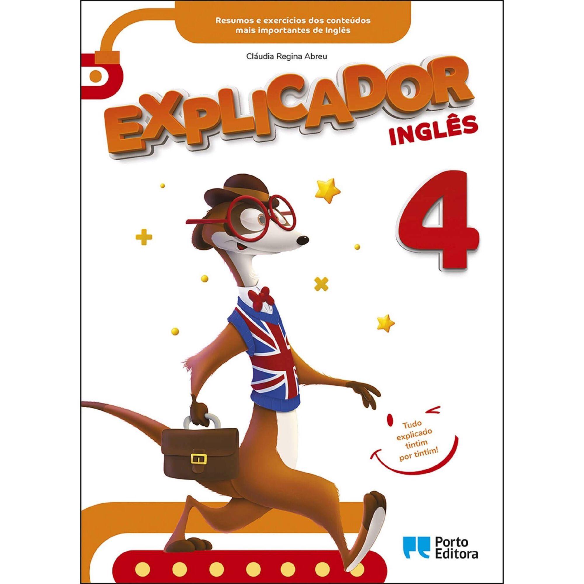 Explicador 4 - Inglês - 4º Ano