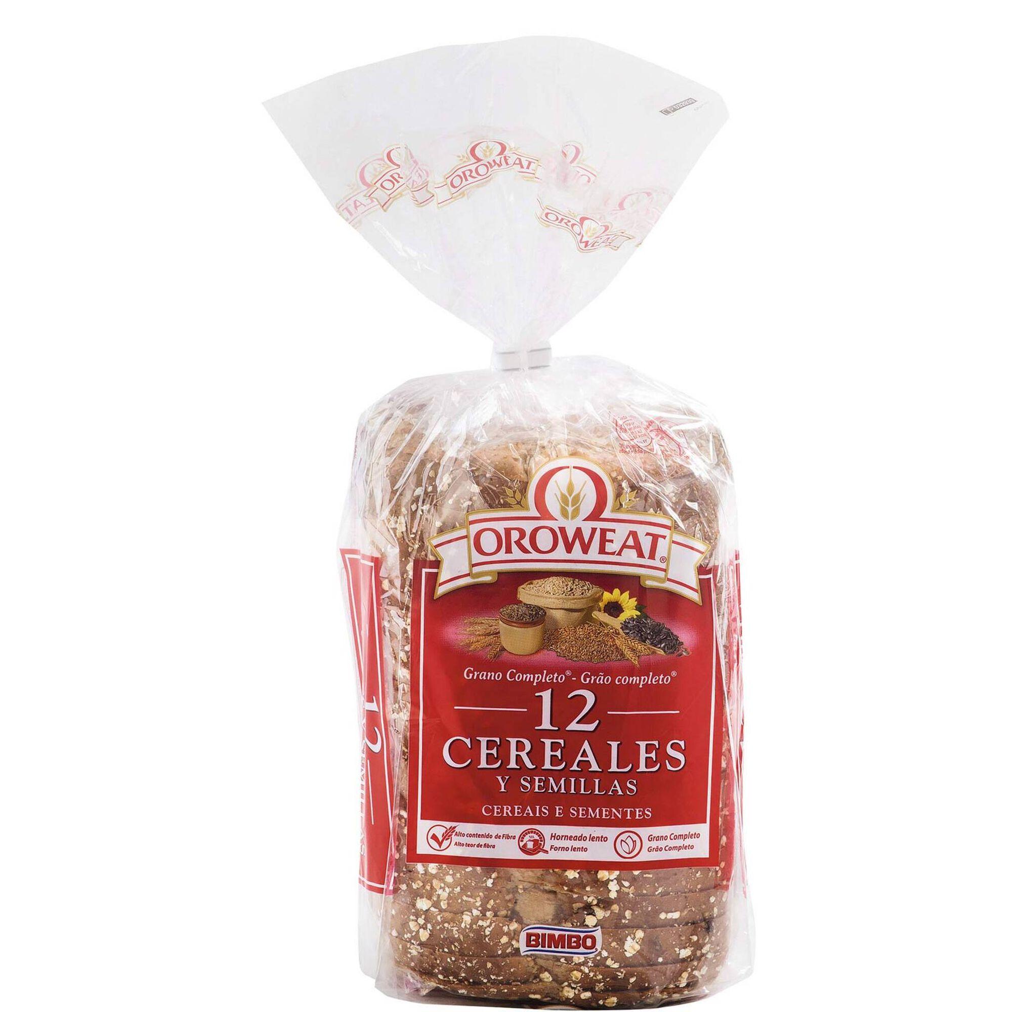 Pão 12 Cereais e Sementes Oroweat