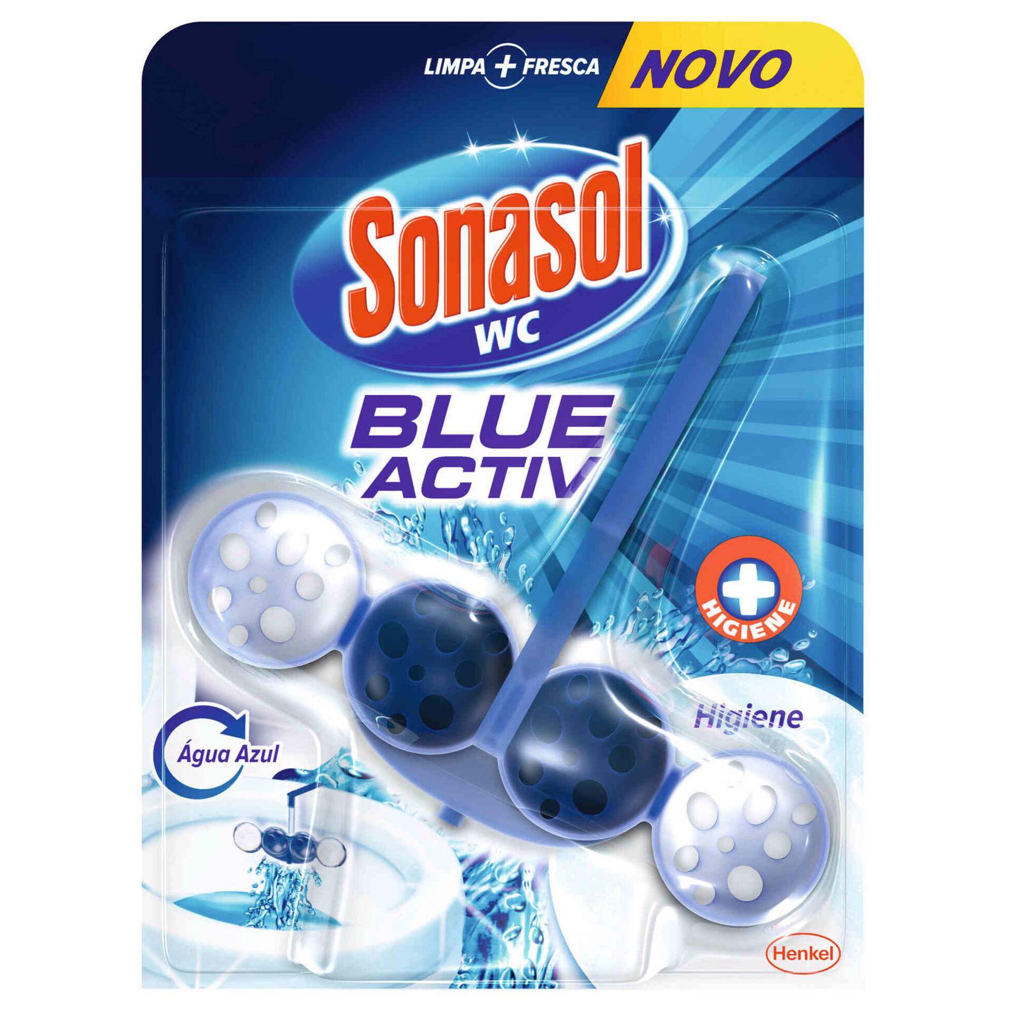 Bloco Sanitário Blue Active Higiene