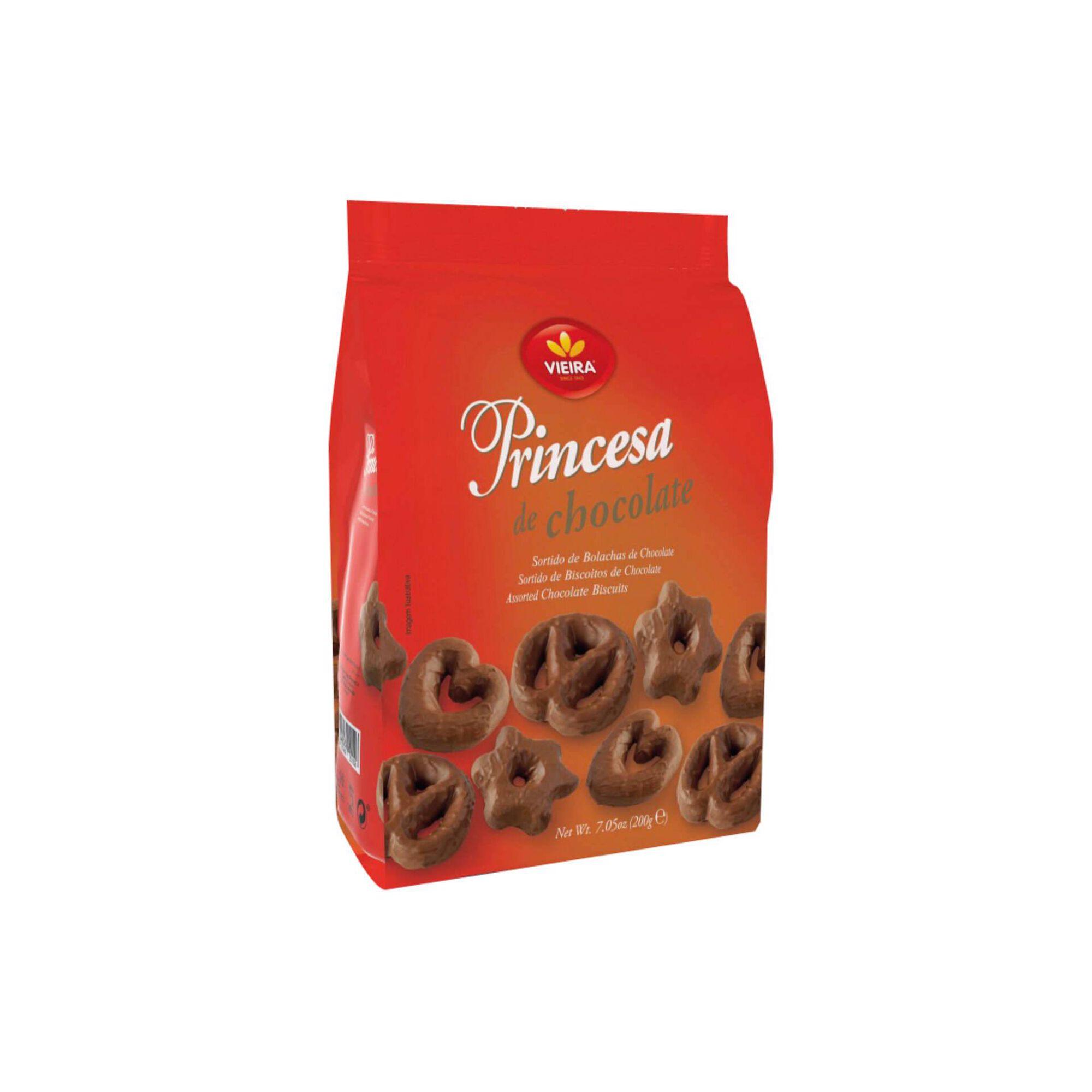 Bolachas Sortido Princesa de Chocolate
