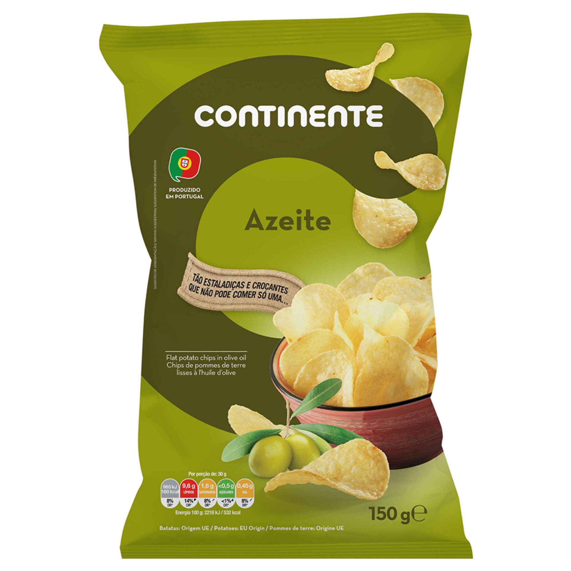 Batata Frita Lisa Azeite
