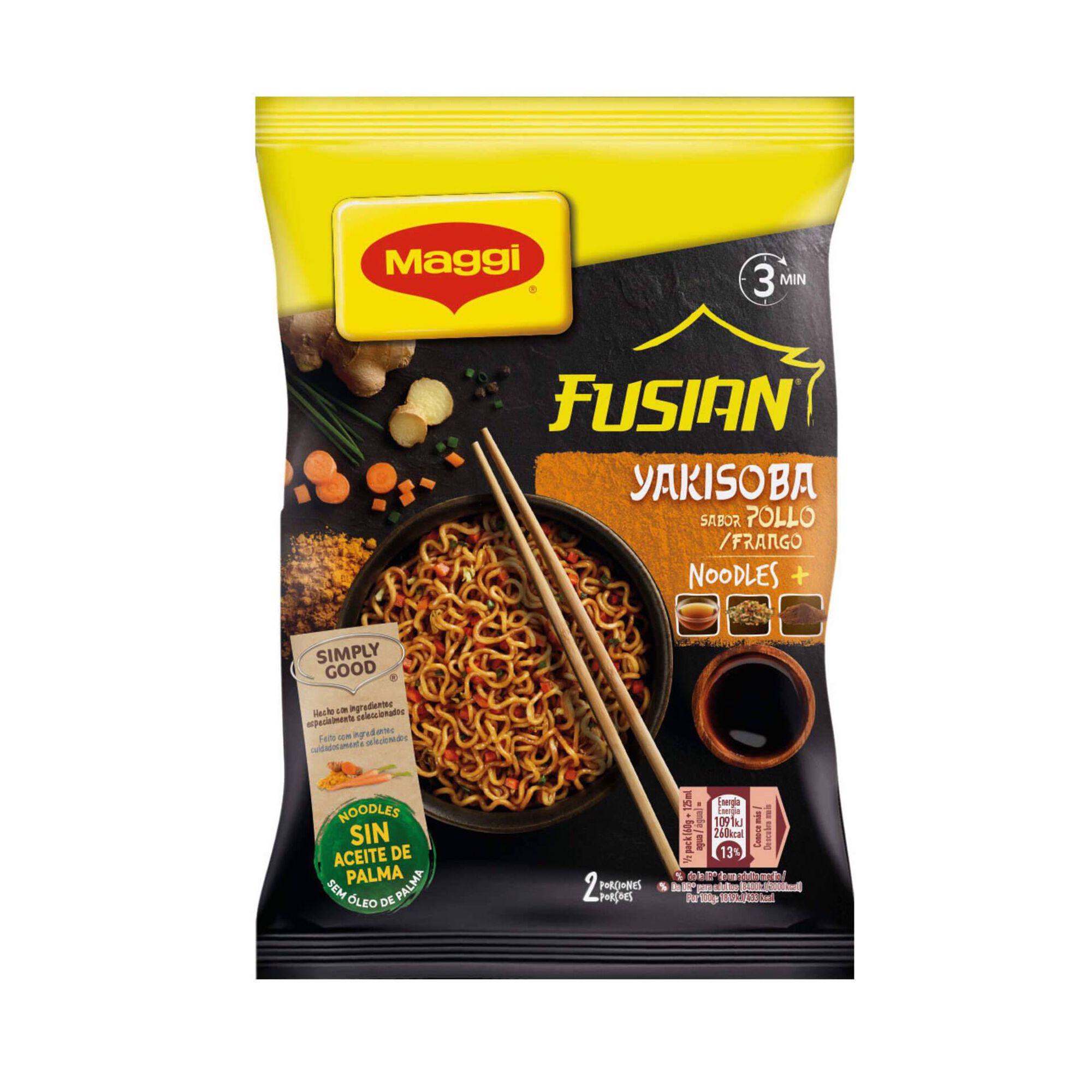 Noodles Yakisoba de Frango