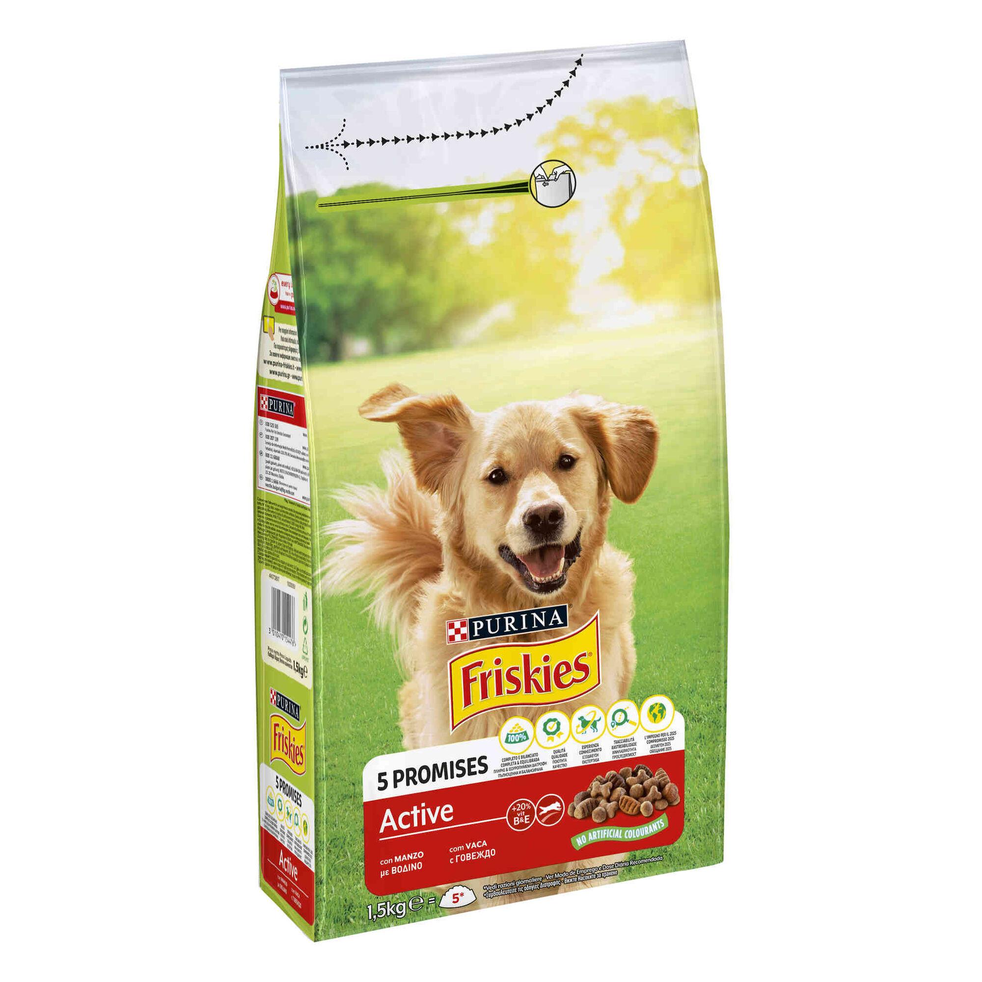 Ração para Cão Adulto VitaFit Active Vaca