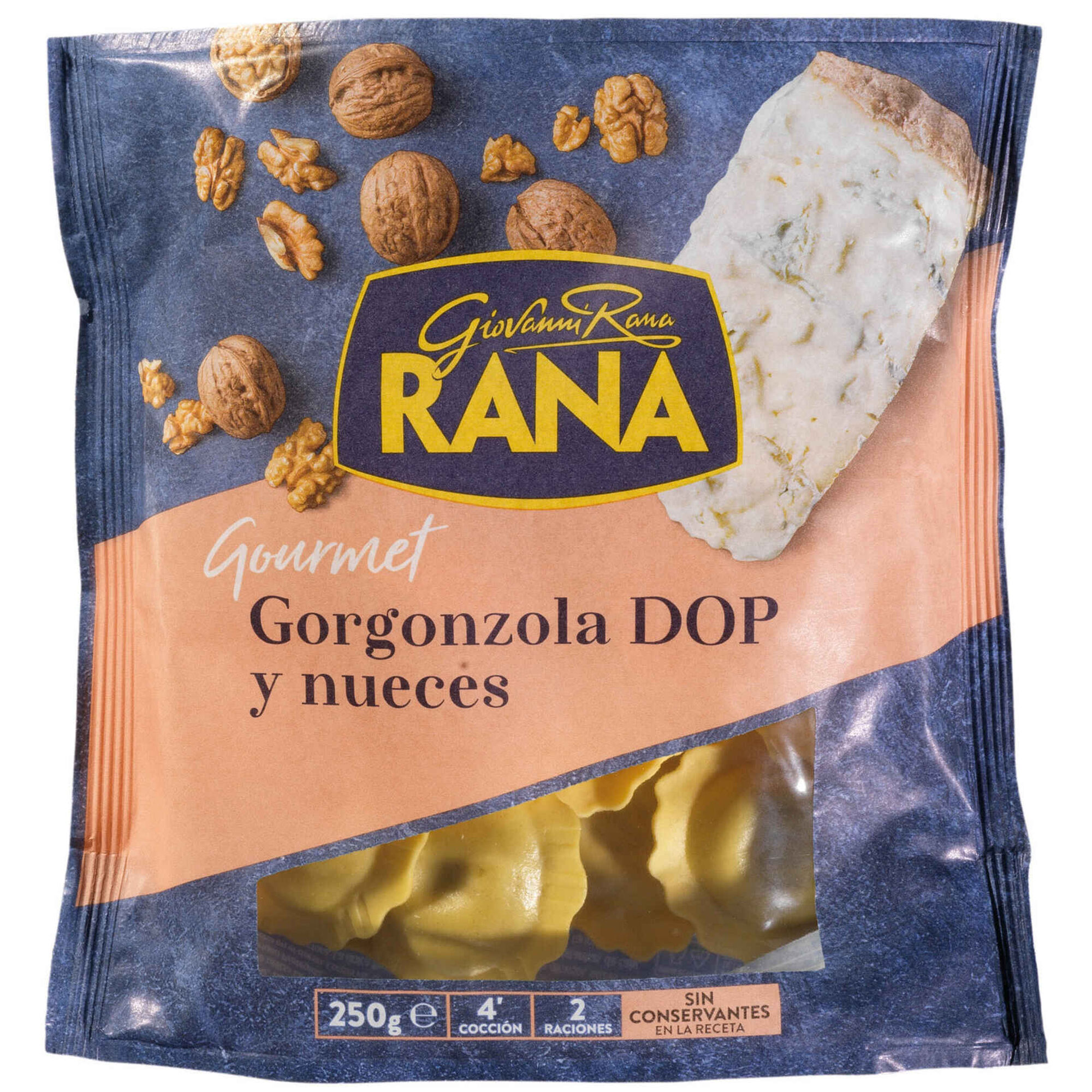 Ravioli com Gorgonzola e Nozes