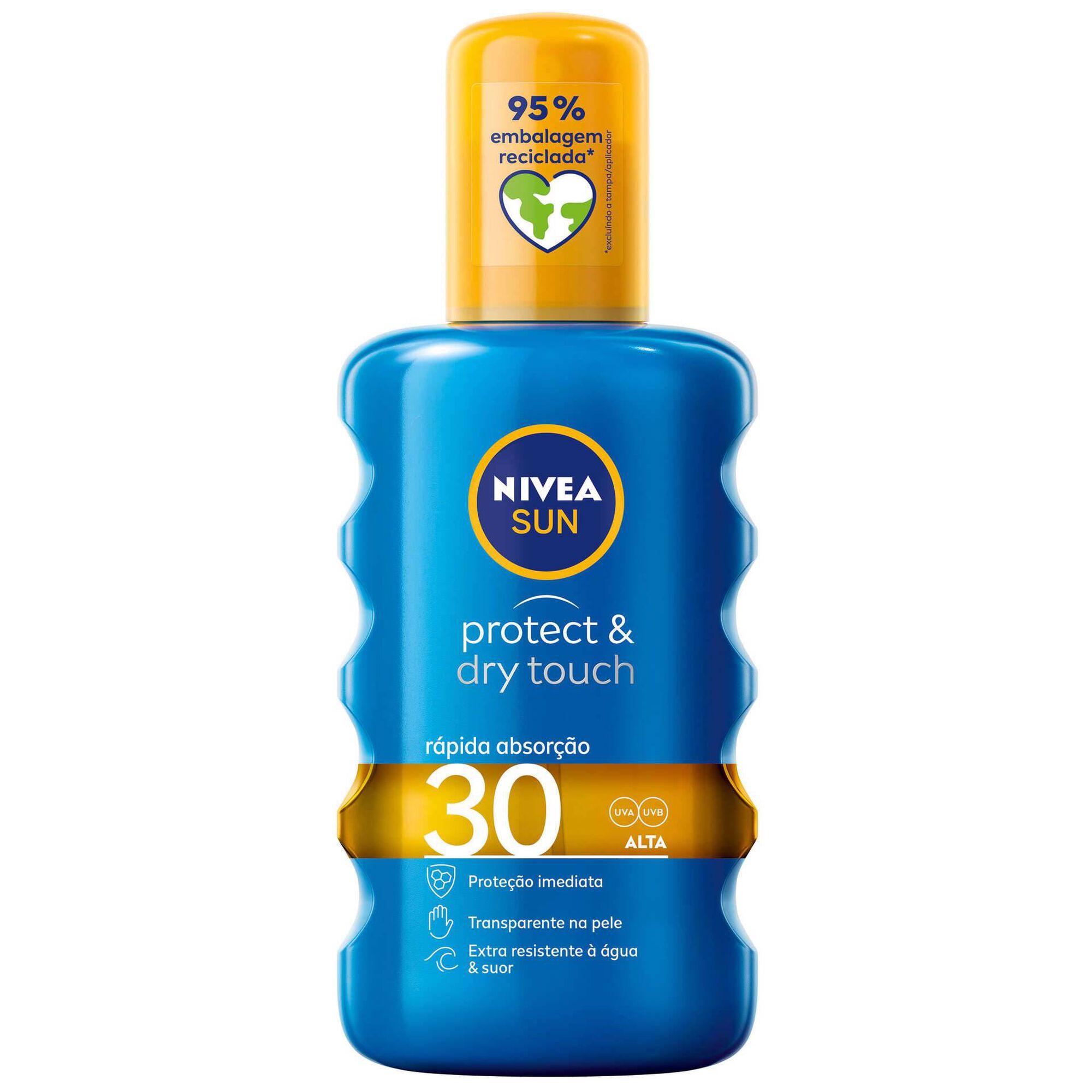 Protetor Solar Spray Óleo Protect & Dry FPS30