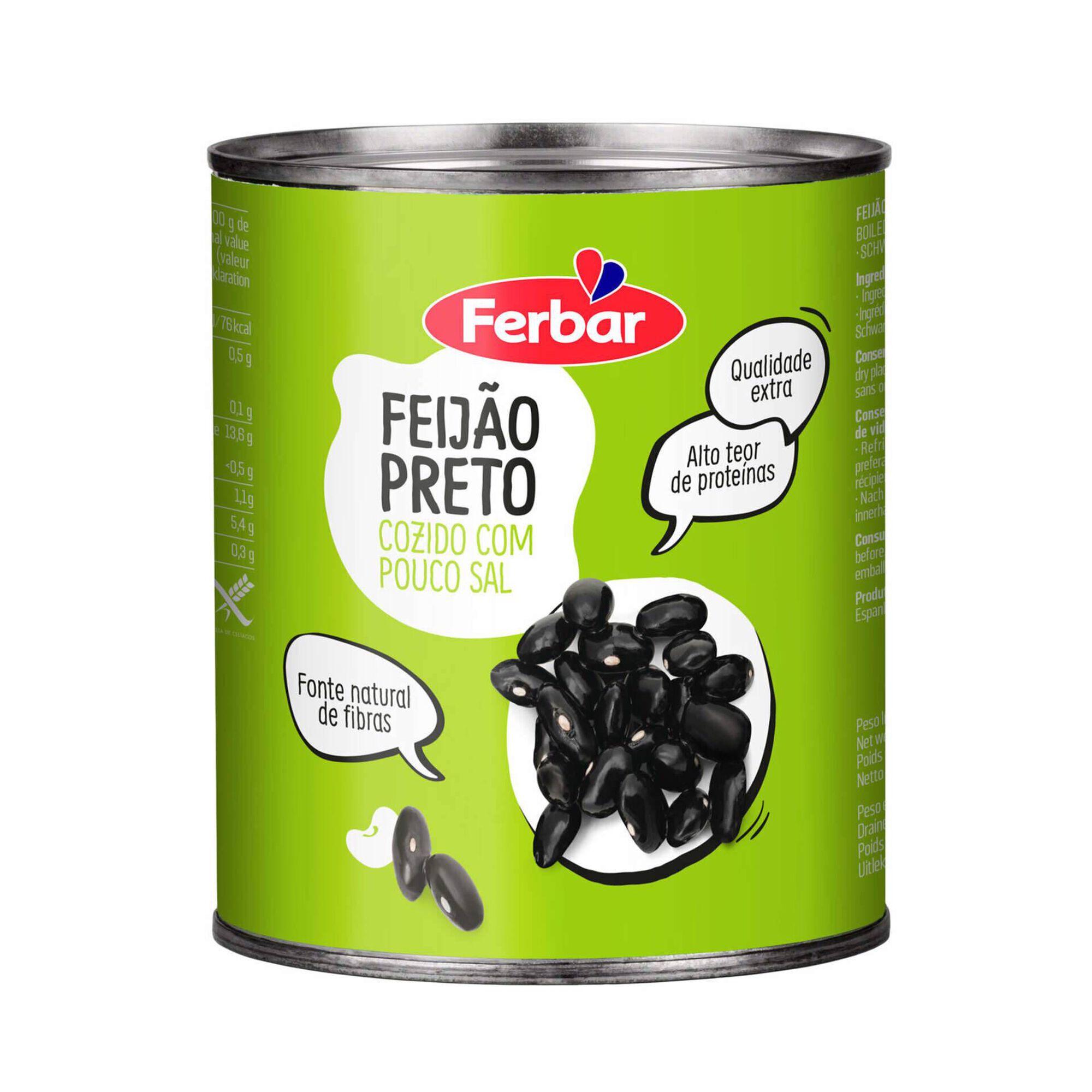 Feijão Preto Cozido