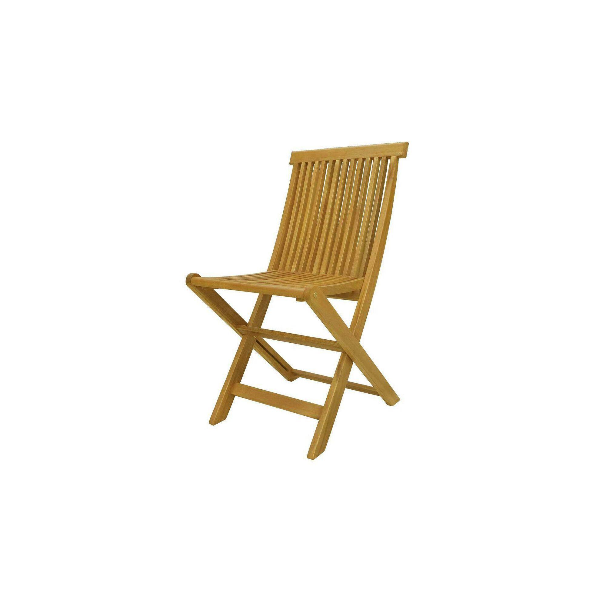 Cadeira de Madeira Acácia Premium