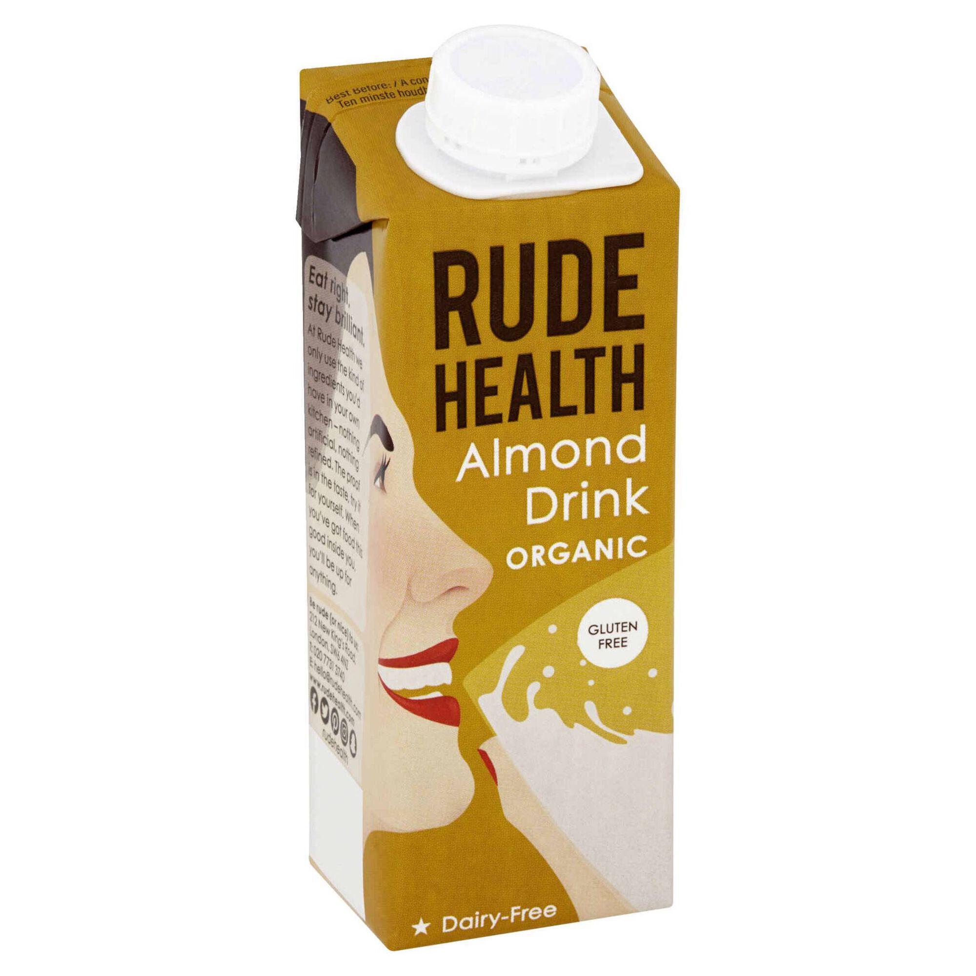 Bebida Vegetal de Amêndoa sem Glúten Biológica