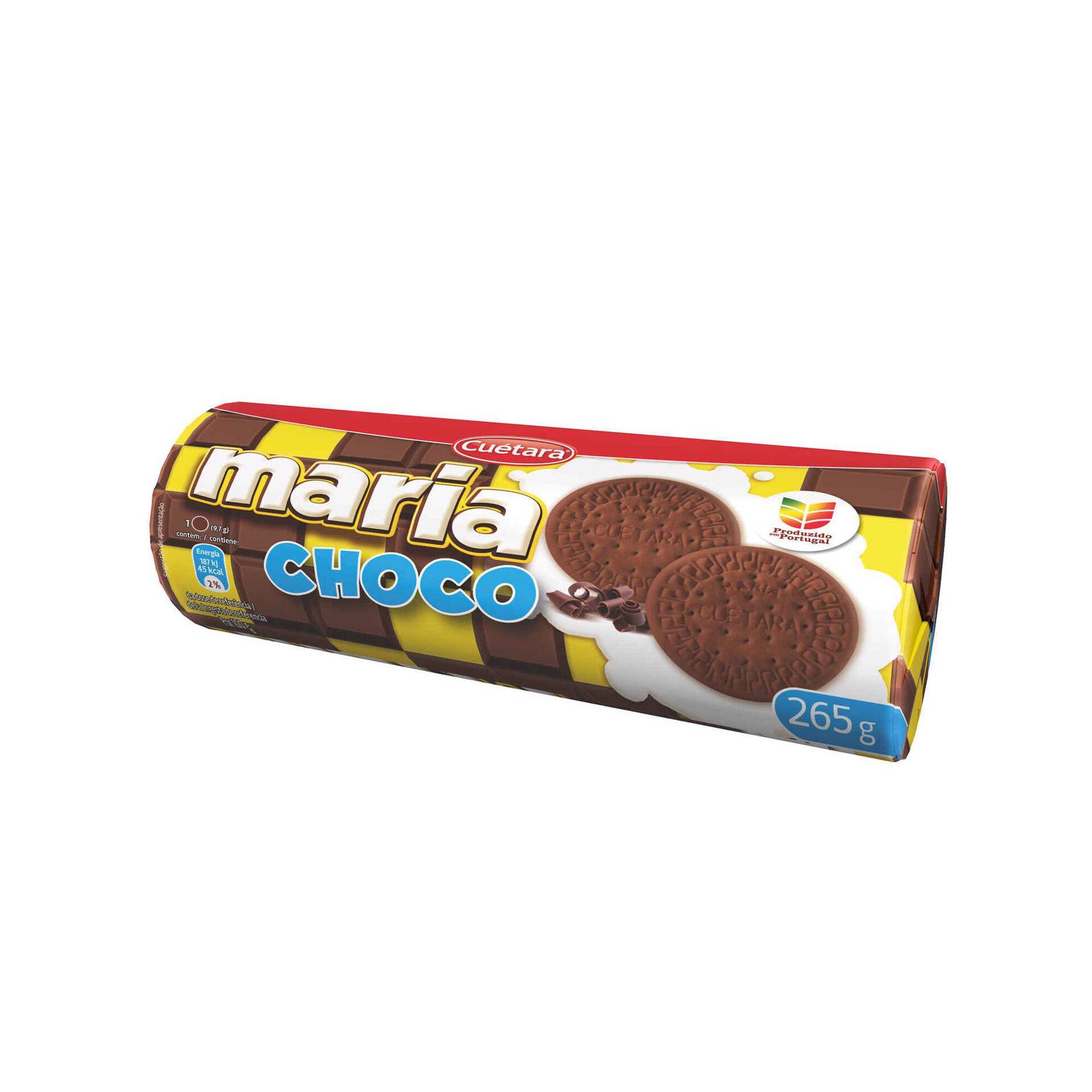 Bolachas Maria de Chocolate