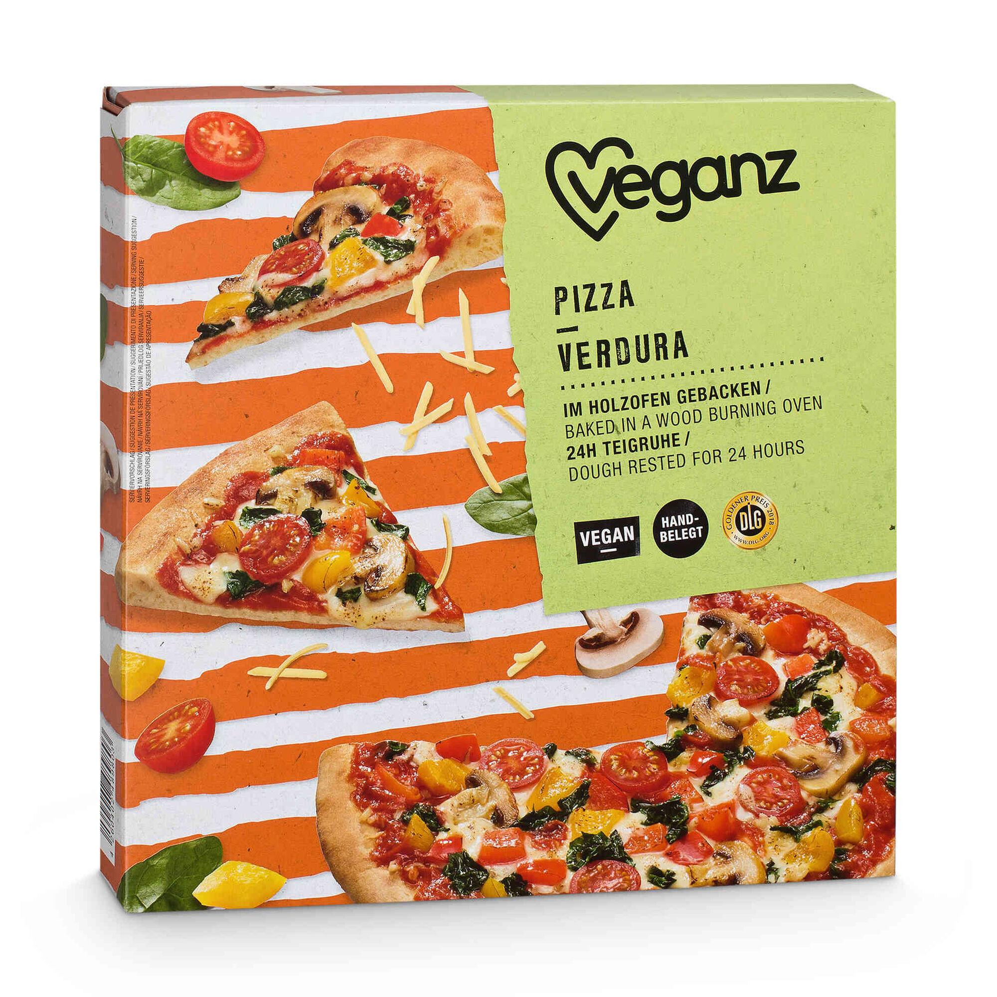 Pizza de Vegetais