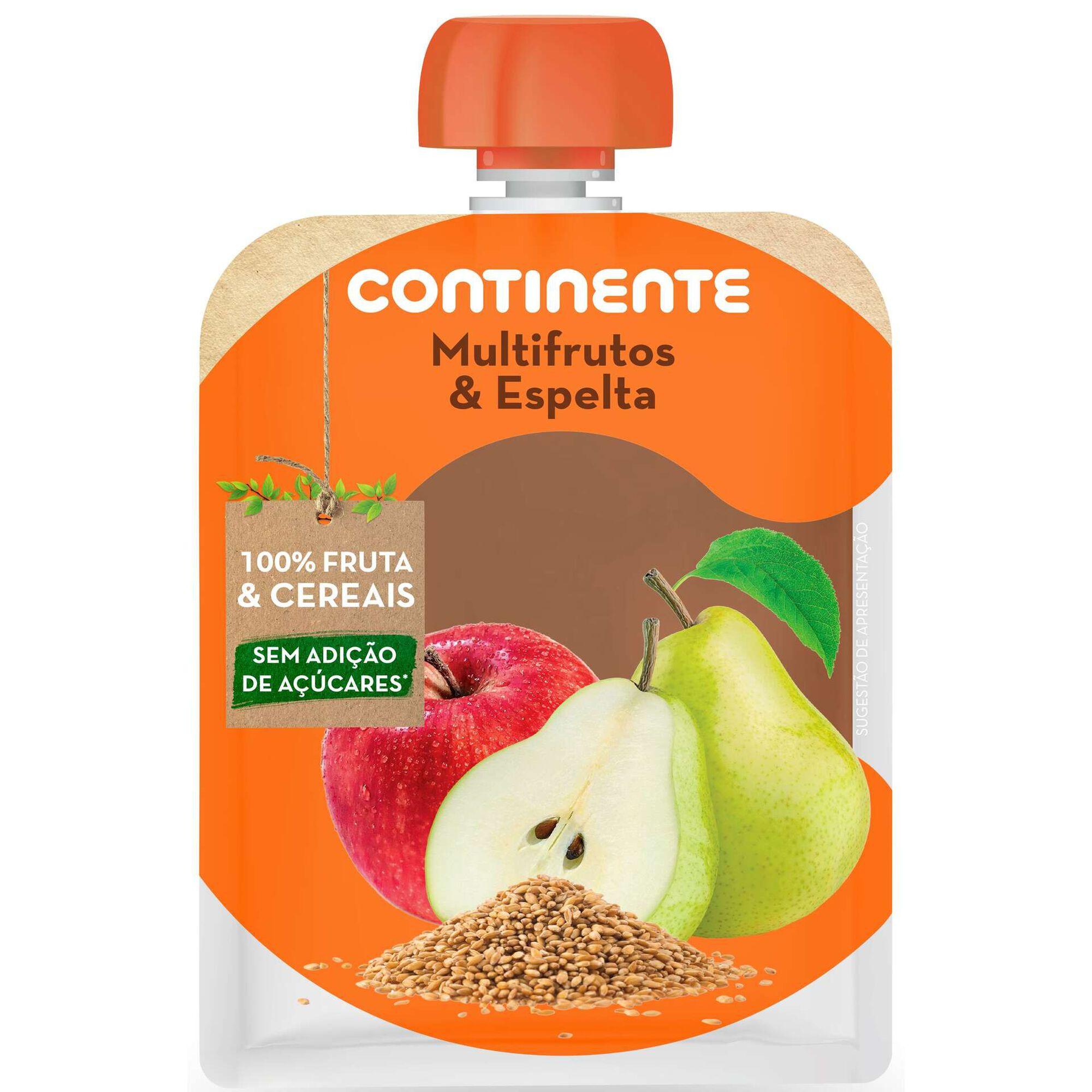 Saqueta de Fruta Multifrutos e Espelta