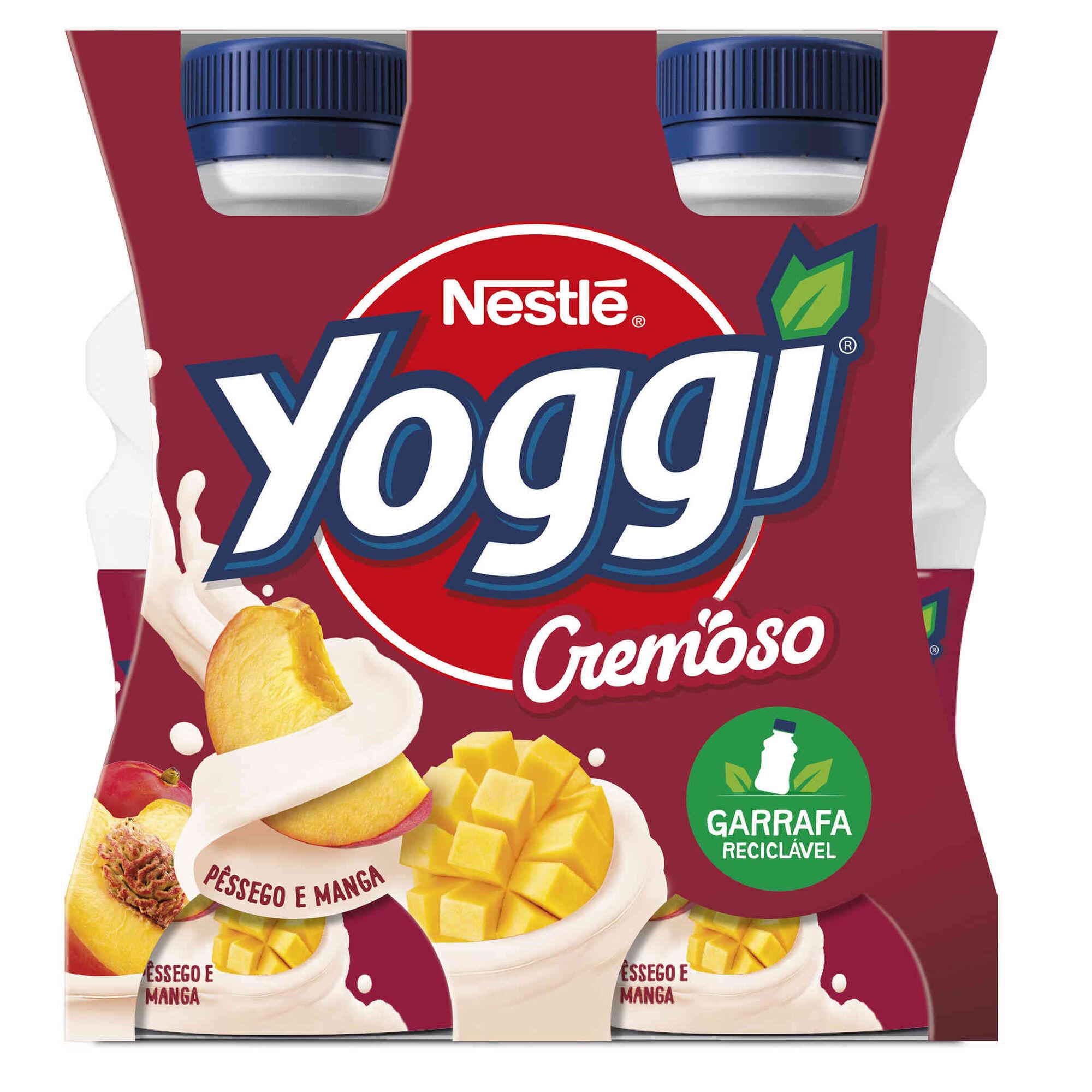 Iogurte Líquido Cremoso Pêssego e Manga